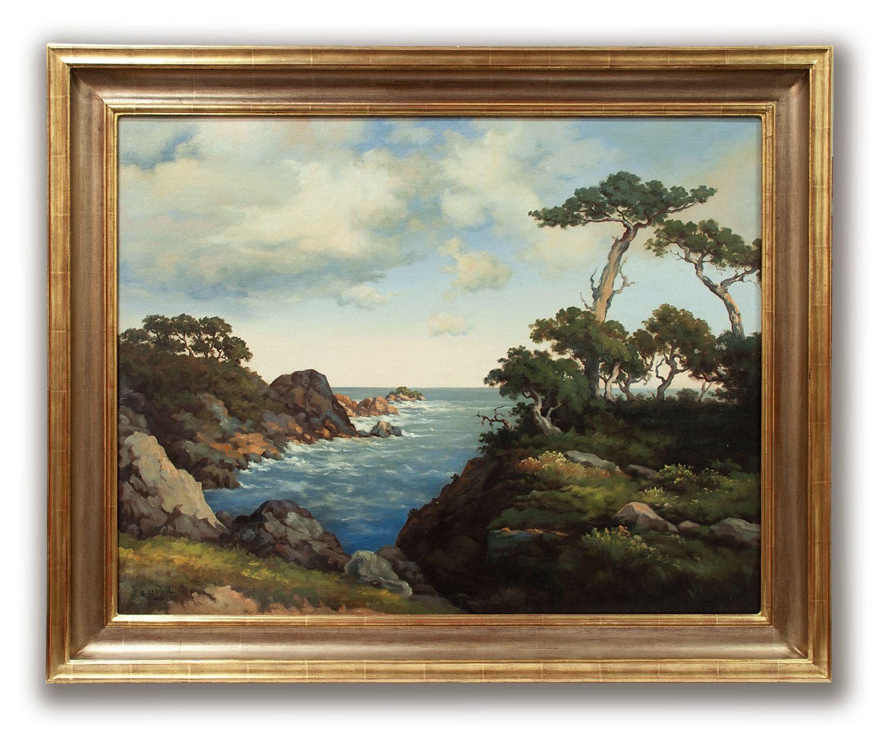ROBERT WOOD (1889-1979), Off Monterey, c 1941-1948