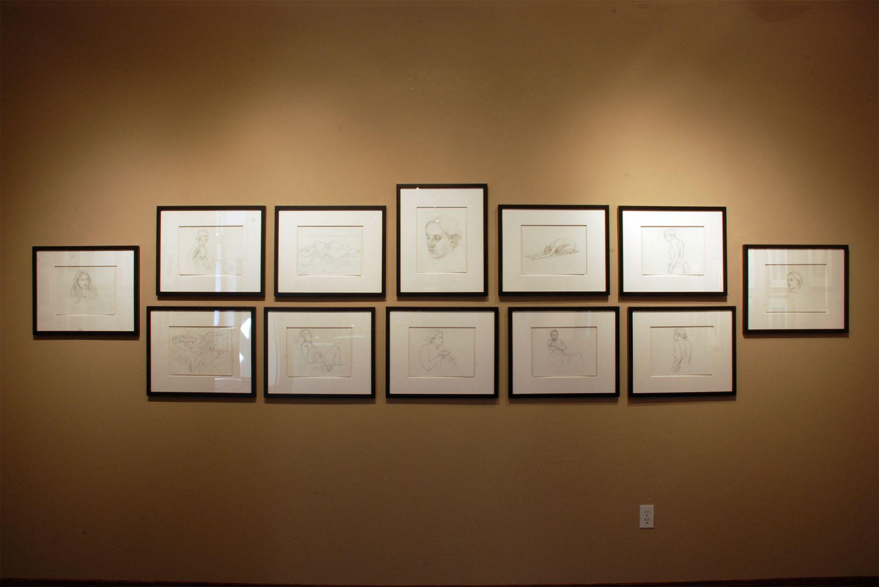 AN EVEN DOZEN installation, John Nava