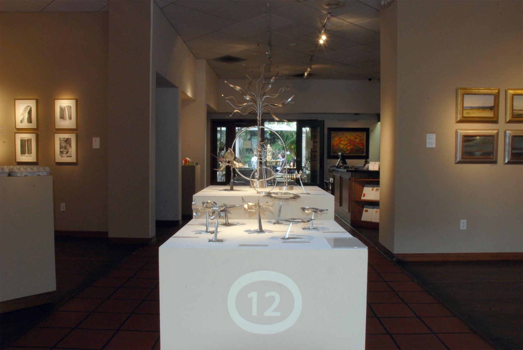 AN EVEN DOZEN installation, Ken Bortolazzo