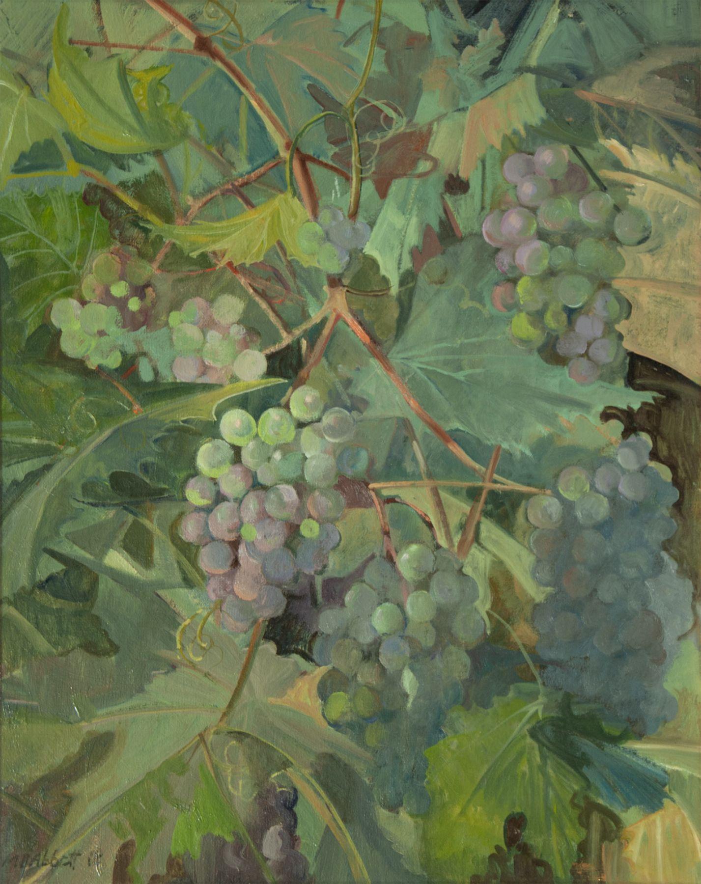 MEREDITH BROOKS ABBOTT, Grapes Turning, 2018