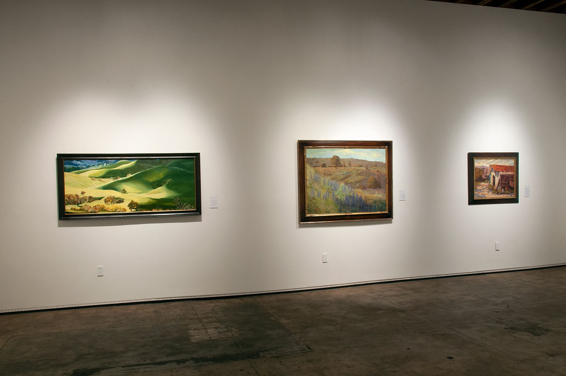 MASTERWORKS OF THE ARTISTS OF SULLIVAN GOSS exhibition, Robin Gowen, Meredith Brooks Abbott, Whitney Brooks Abbott