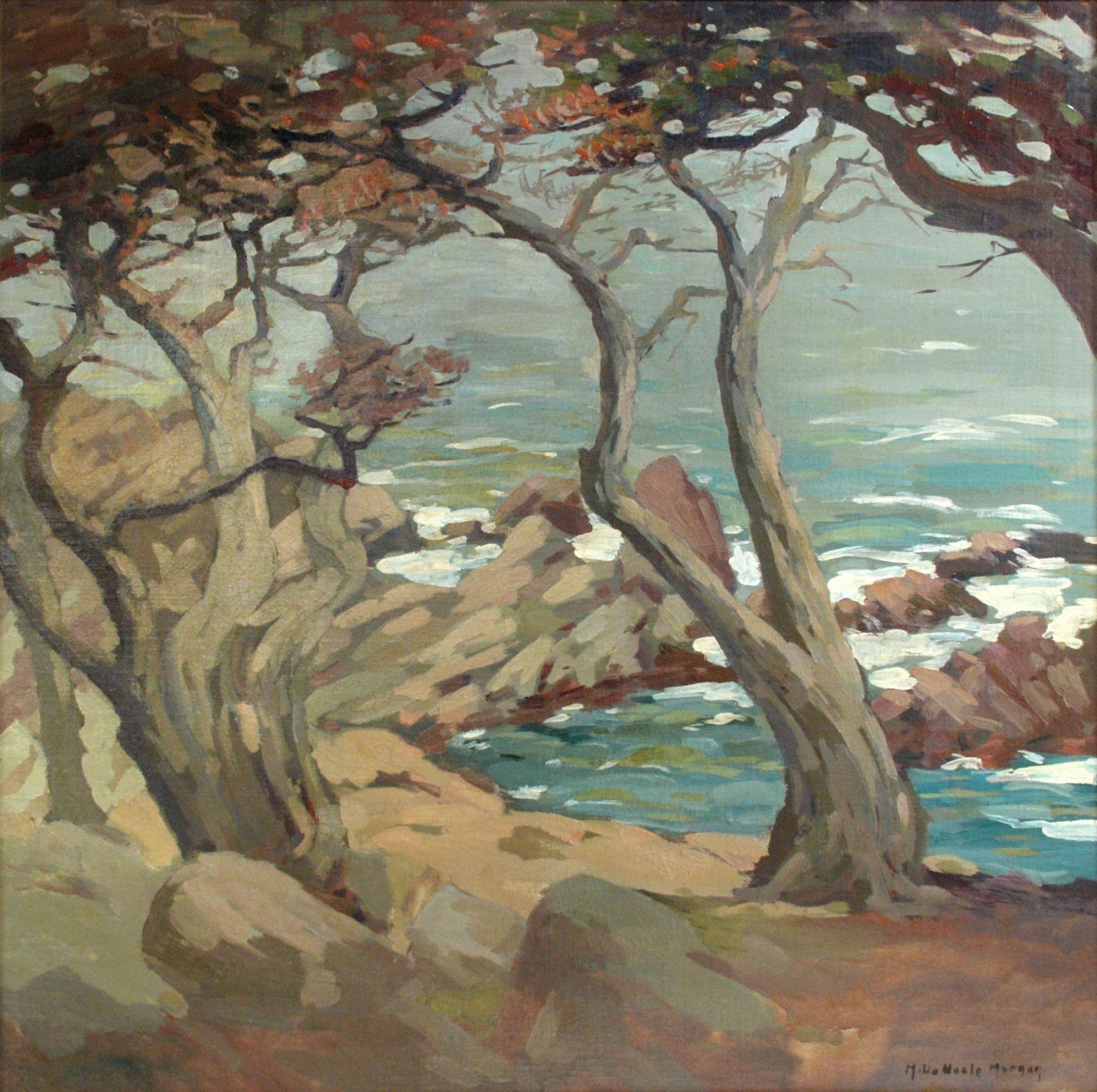 MARY DENEALE MORGAN (1868-1948), Windy Day at Dusk