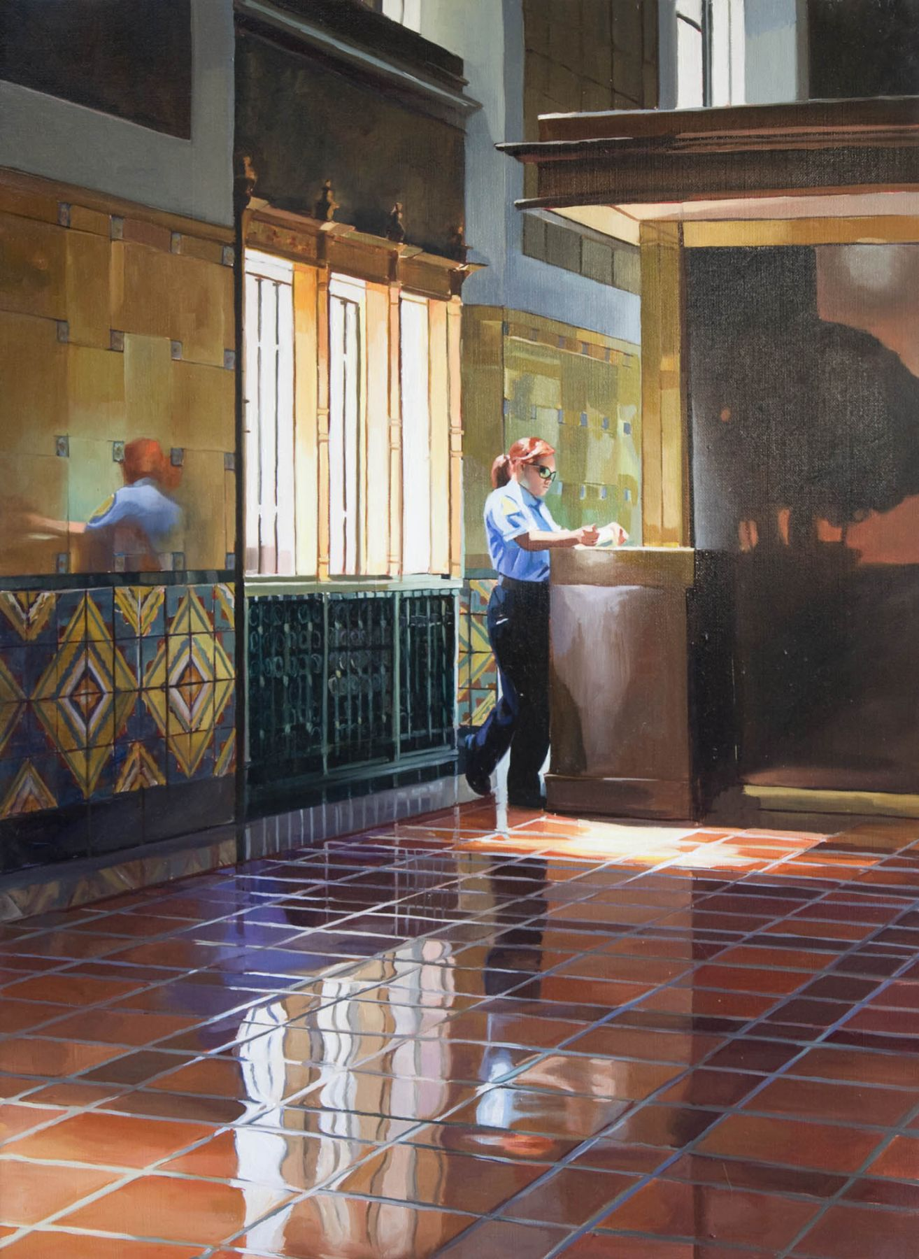 Patricia Chidlaw, Security, Union Station,