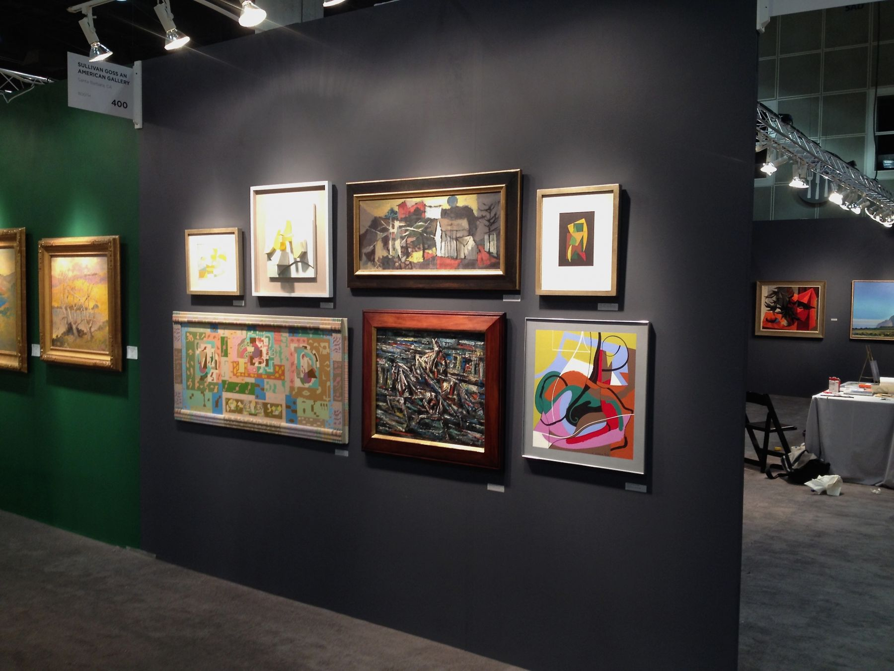 LA ART SHOW, 2014 installation