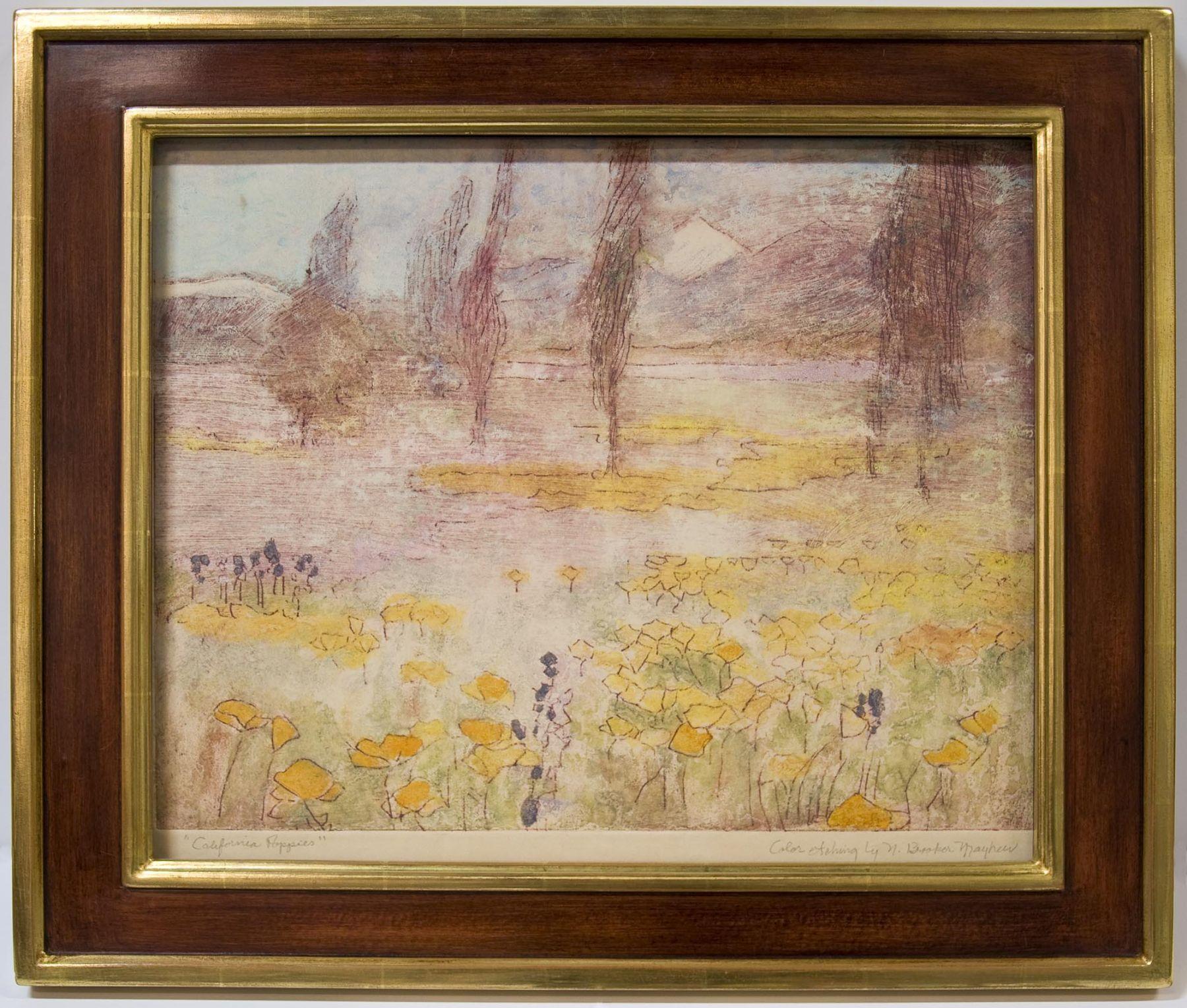 California Poppies, Nell Brooker Mayhew