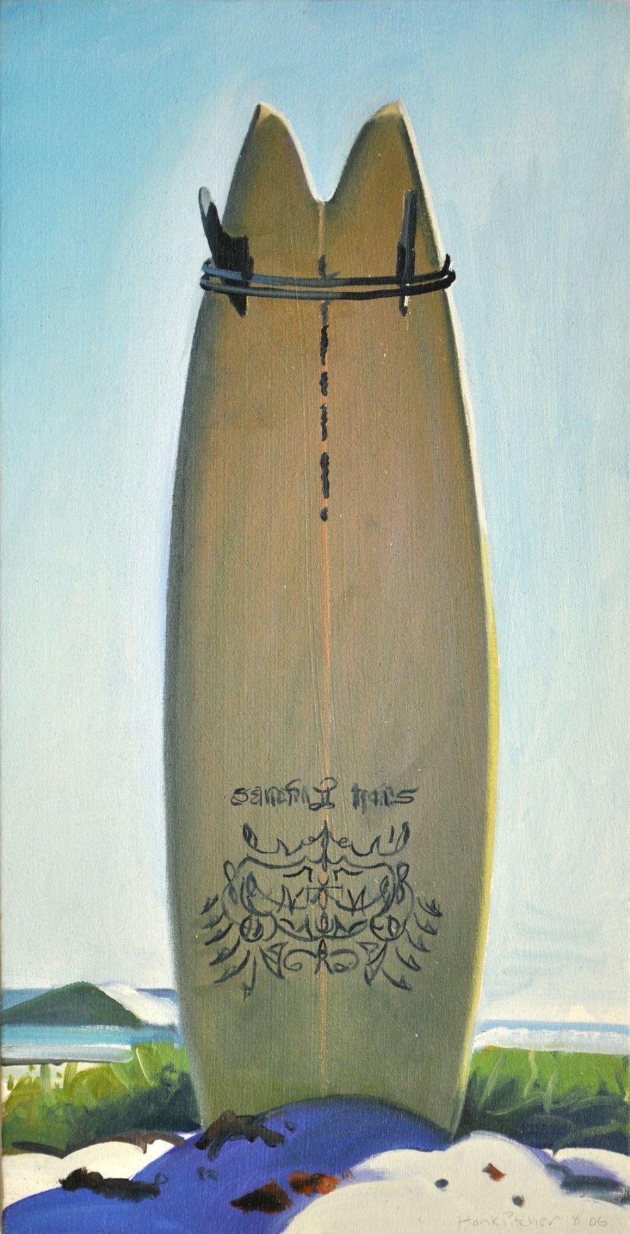 Hank Pitcher, Tattoo Board - Brom Fish, 2006