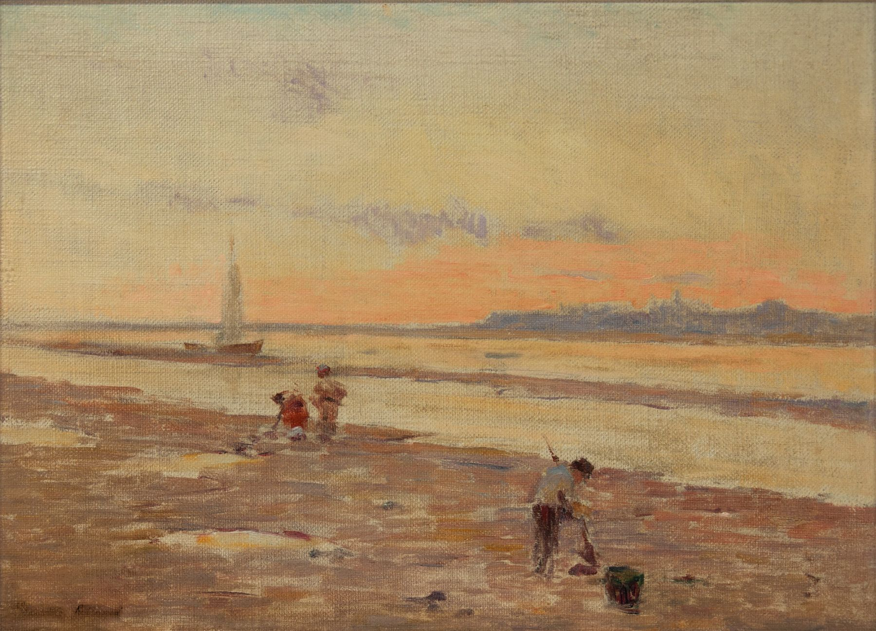 GRANVILLE REDMOND (1871-1935), The Clam Diggers