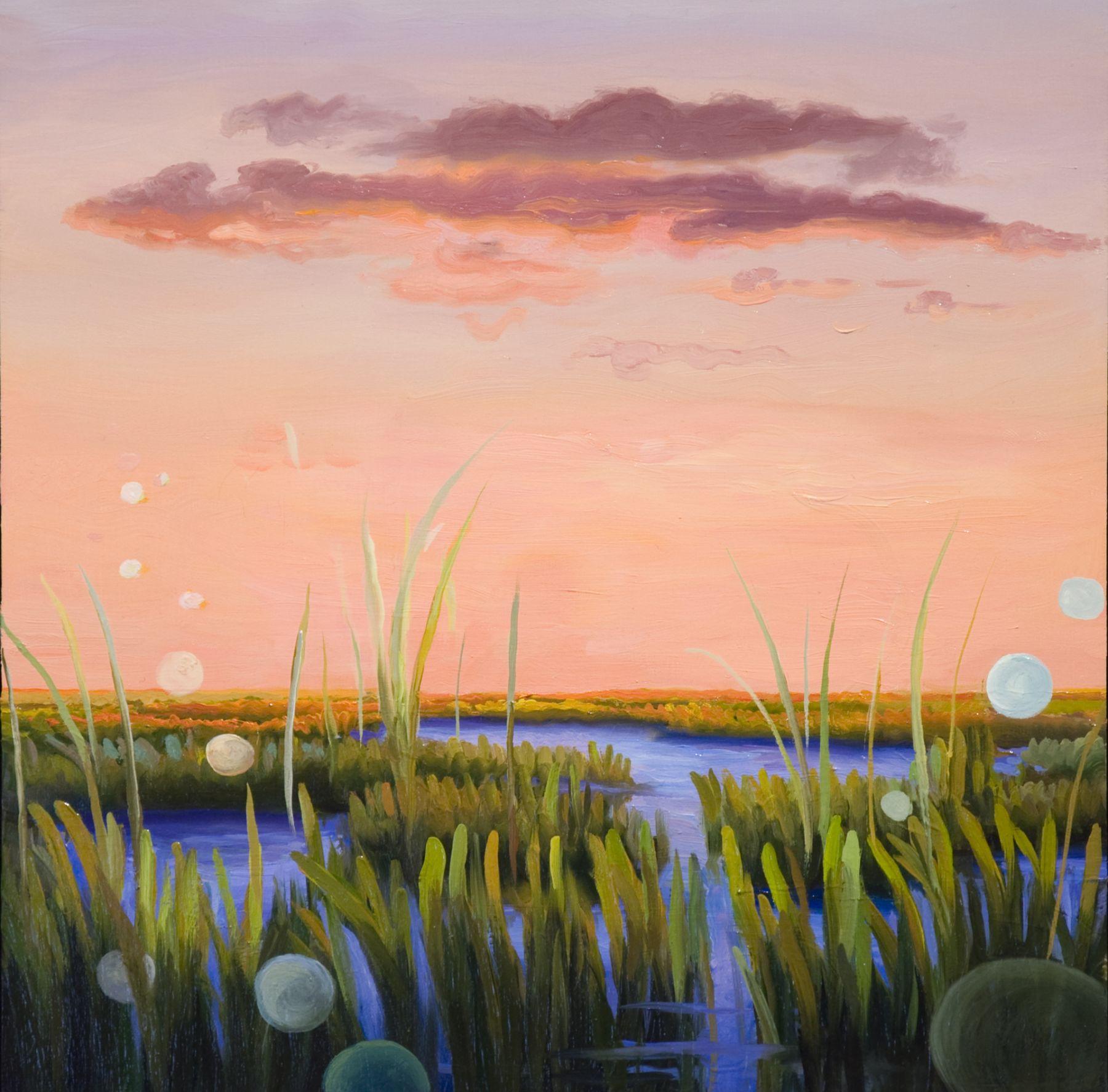 Phoebe Brunner, Pink Dawn, 2017