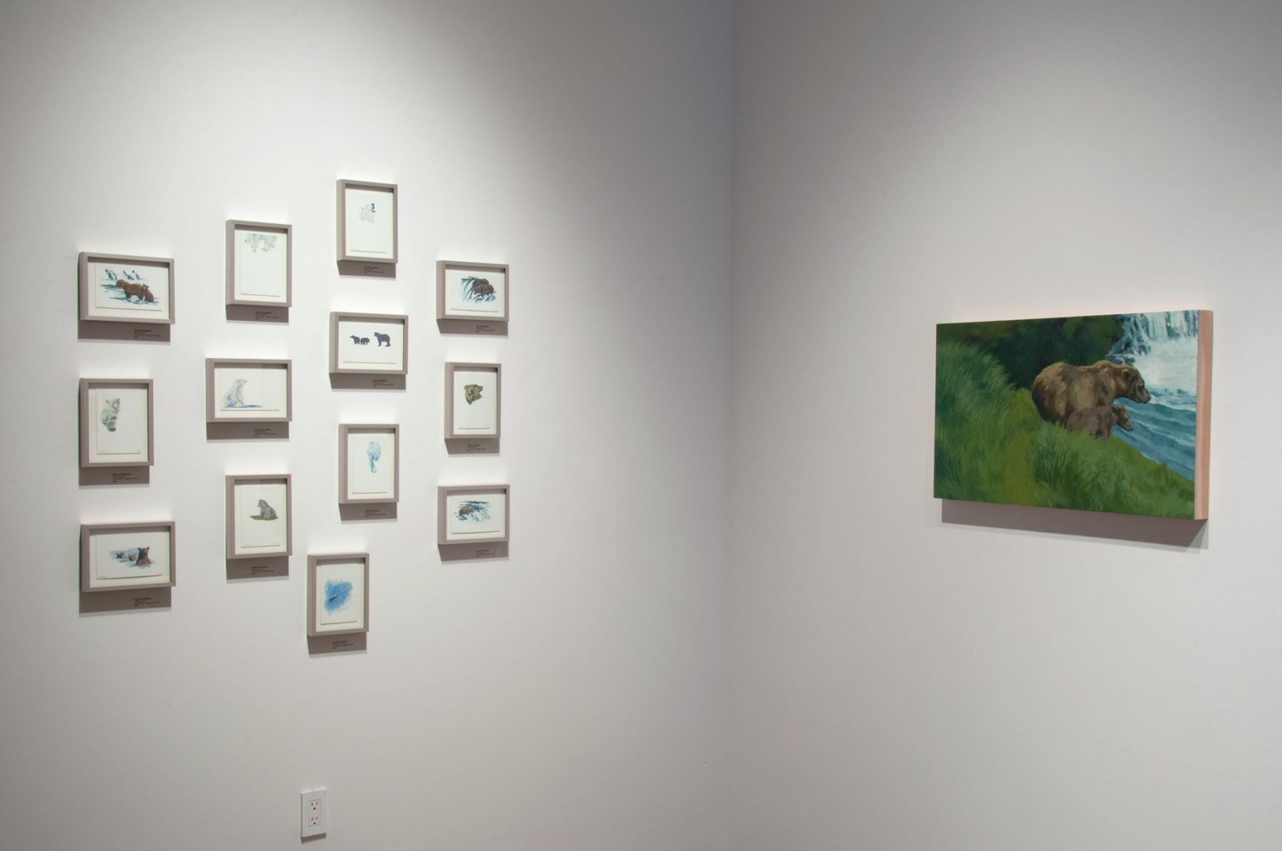 Contemporary Bear Area Artists Installation photograph, Nicole Strasburg