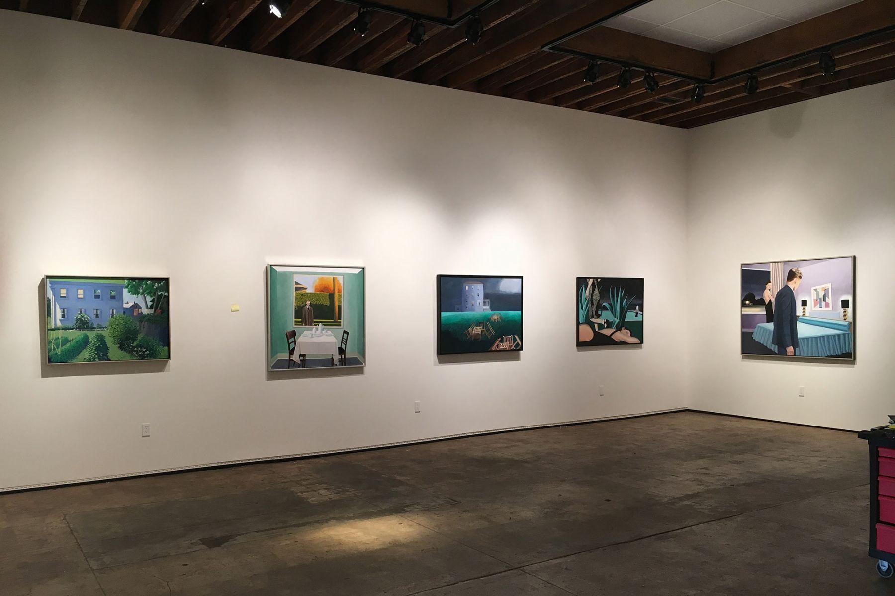 Frank Kirk: The House Across the Street installation photograph