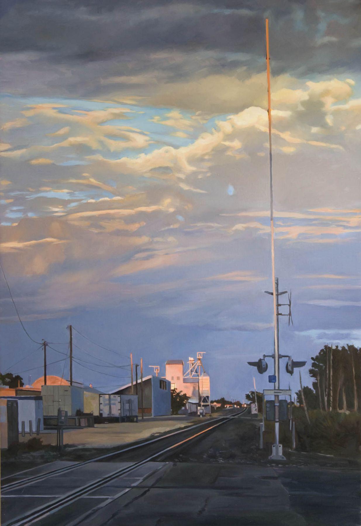 Patricia Chidlaw, Crossing, Marfa Texas,