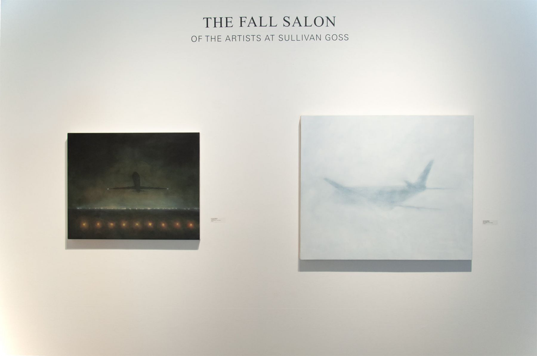 THE FALL SALON 2019 installation shot with Natalie Arnoldi
