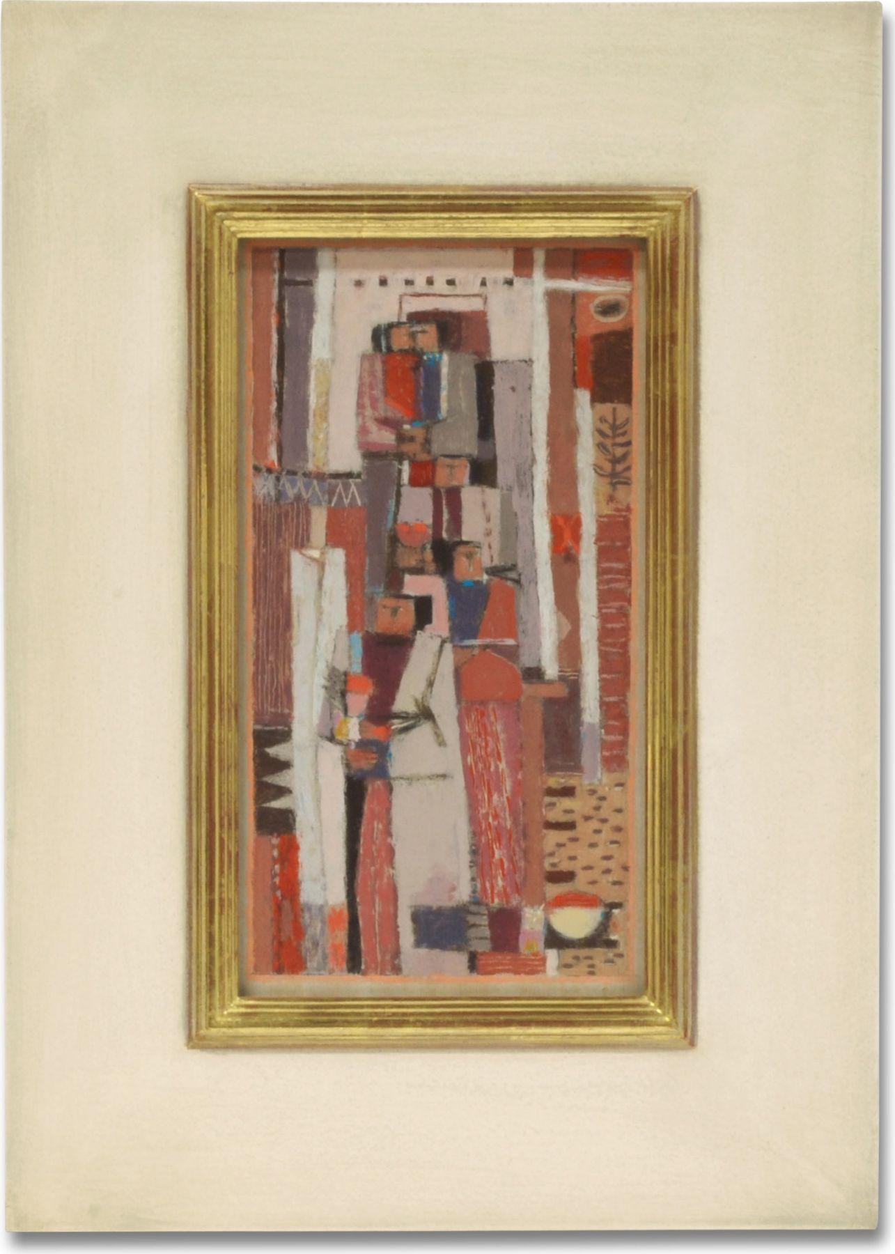 "RICHARD HAINES (1906-1984), ""Women of Village,"" c. mid 1950s"