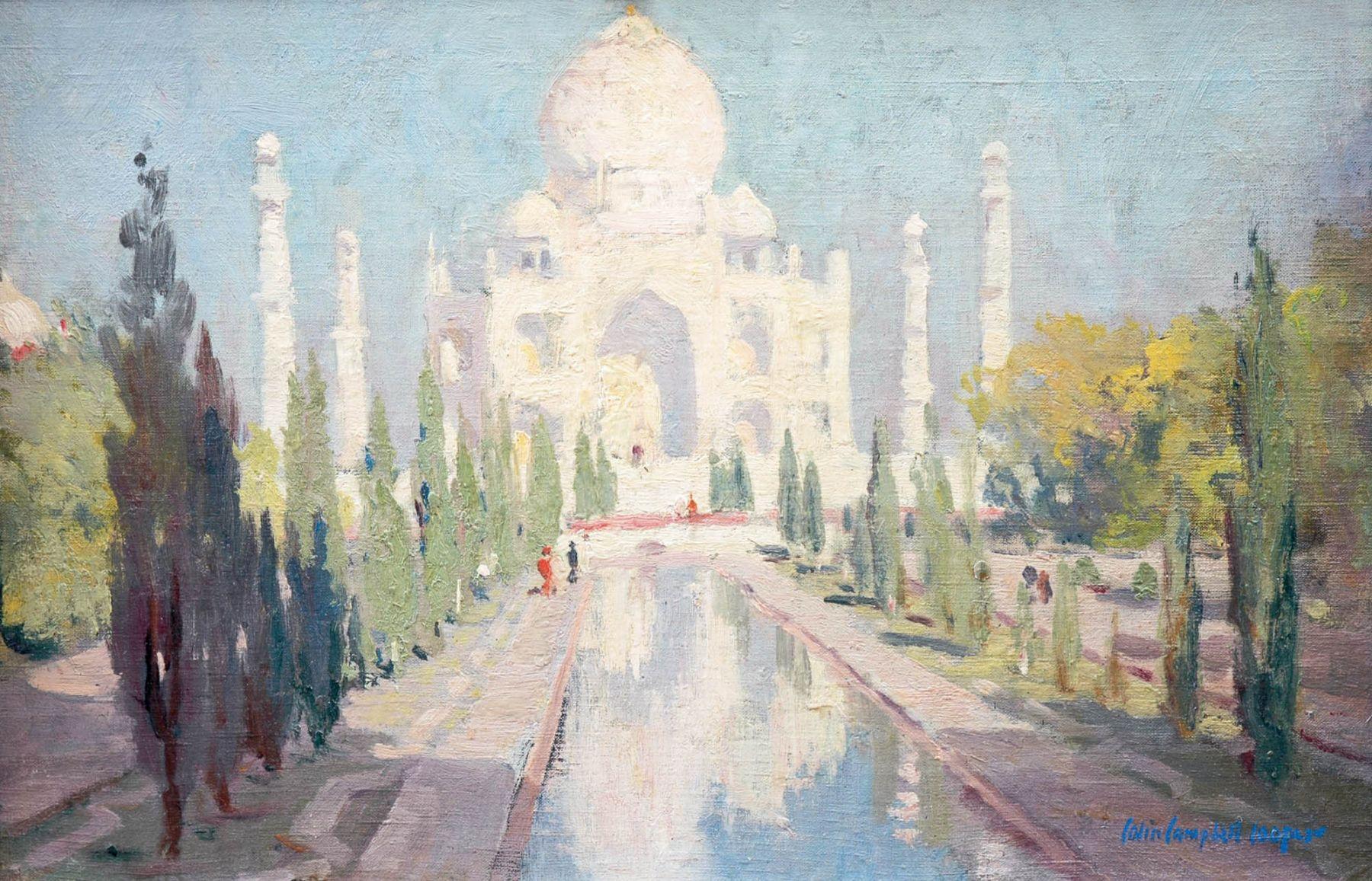 Colin Campbell Cooper, View of the Taj Mahal, Circa 1913
