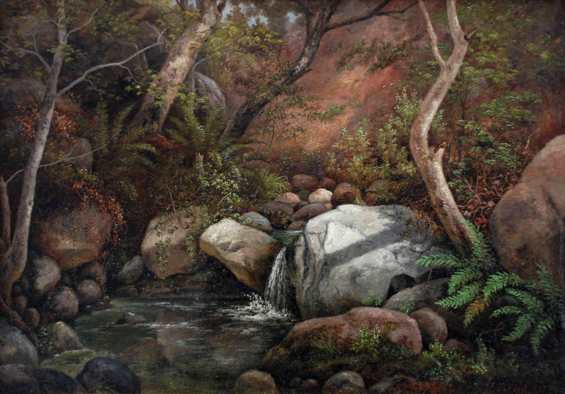 Henry Chapman Ford, Waterfall