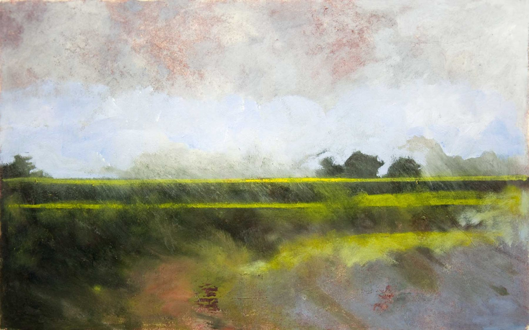 Whitney Brooks Hansen - Mustard Field