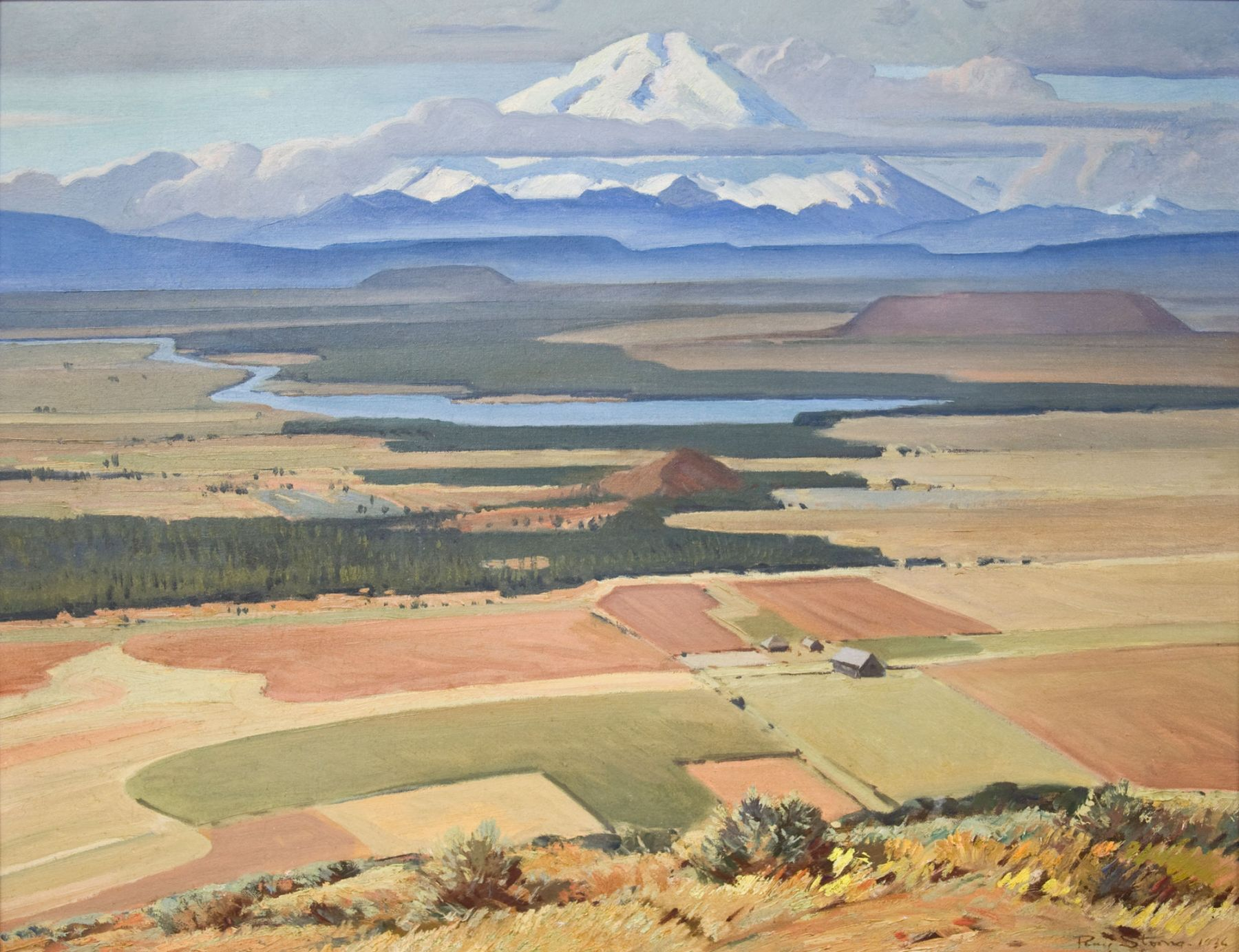 Ray Strong (1905-2006), Mt. Adams, 1936