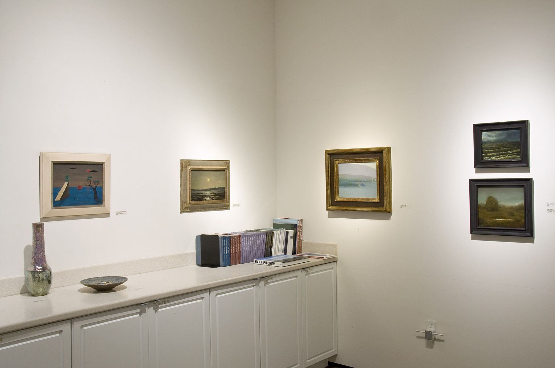Winter Salon I, 2018, Gertrude Abercrombie, Lockwood de Forest, Leon Dabo, Chris Peters