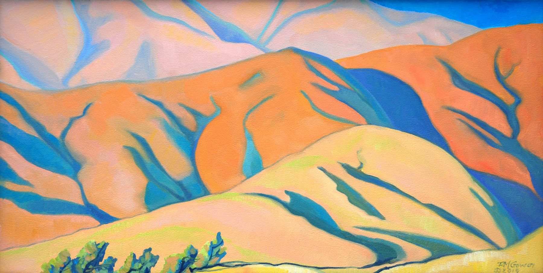 Robin Gowen, The Massing Hills II