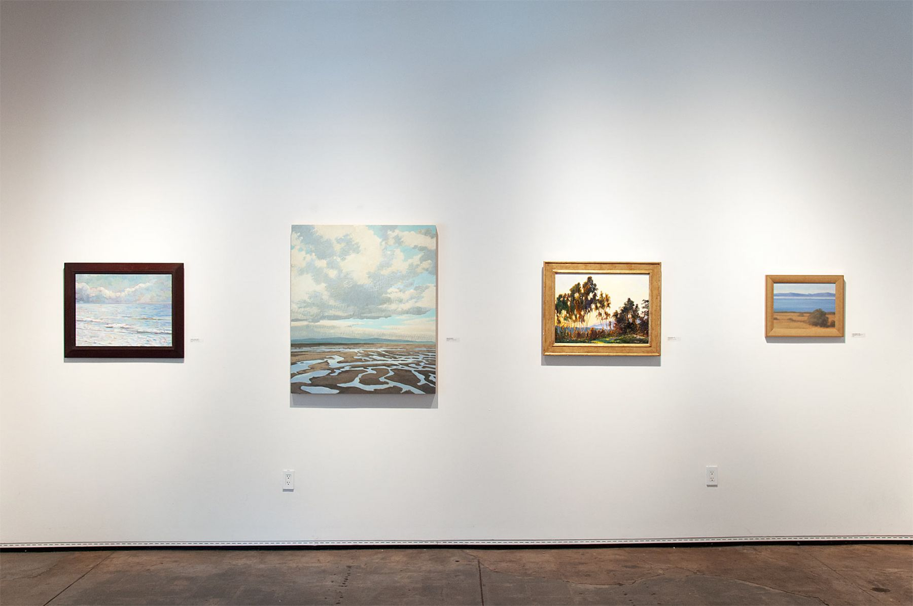 THE FALL SALON 2019 installation shot, Whitney Brooks Abbott, Nicole Strasburg, Robin Gowen, Sarah Vedder
