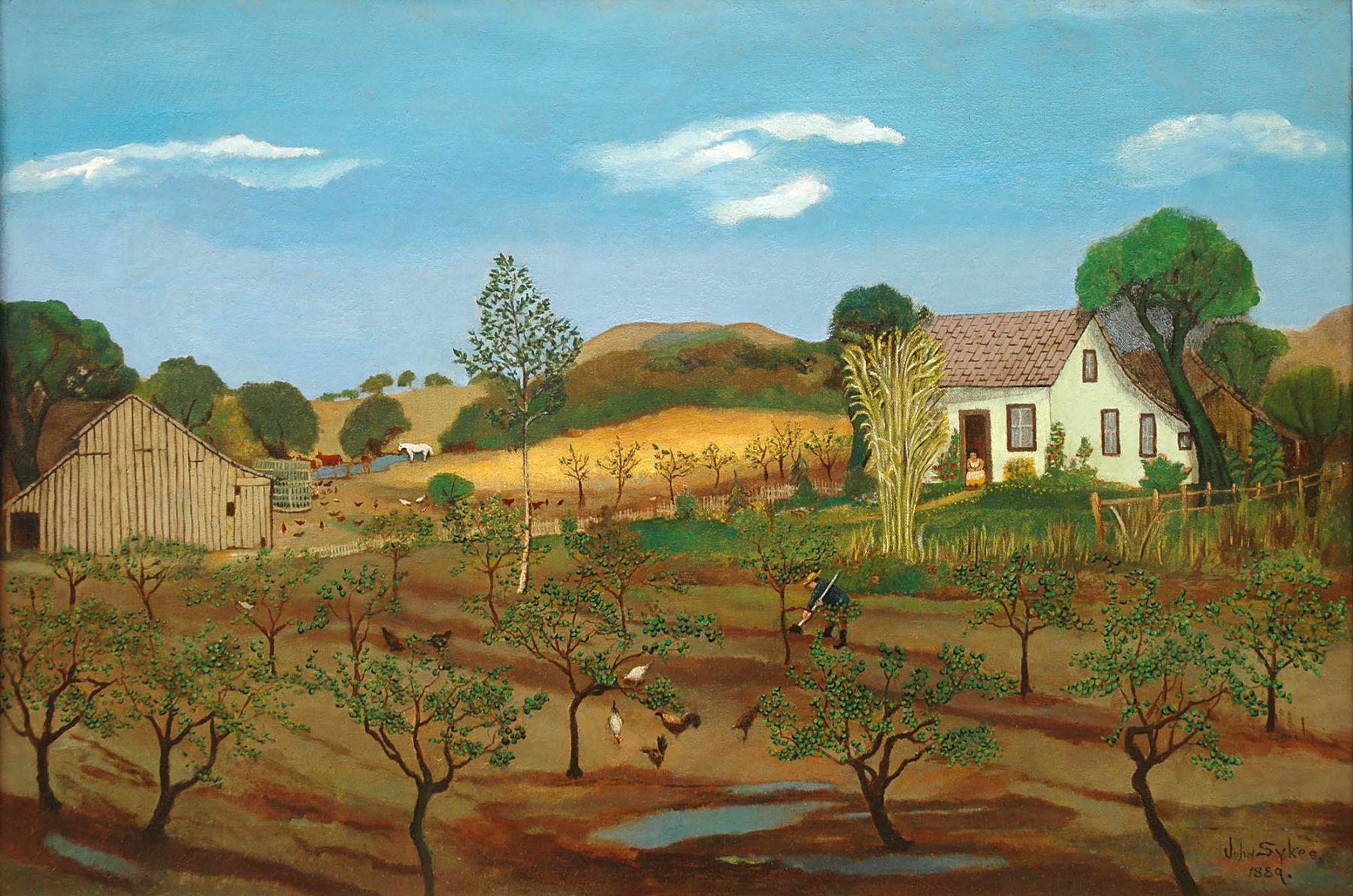 John Sykes, Early Santa Barbara Farm