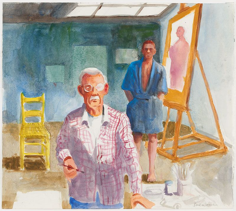 Paul Wonner, Youth and Old Age, 2001
