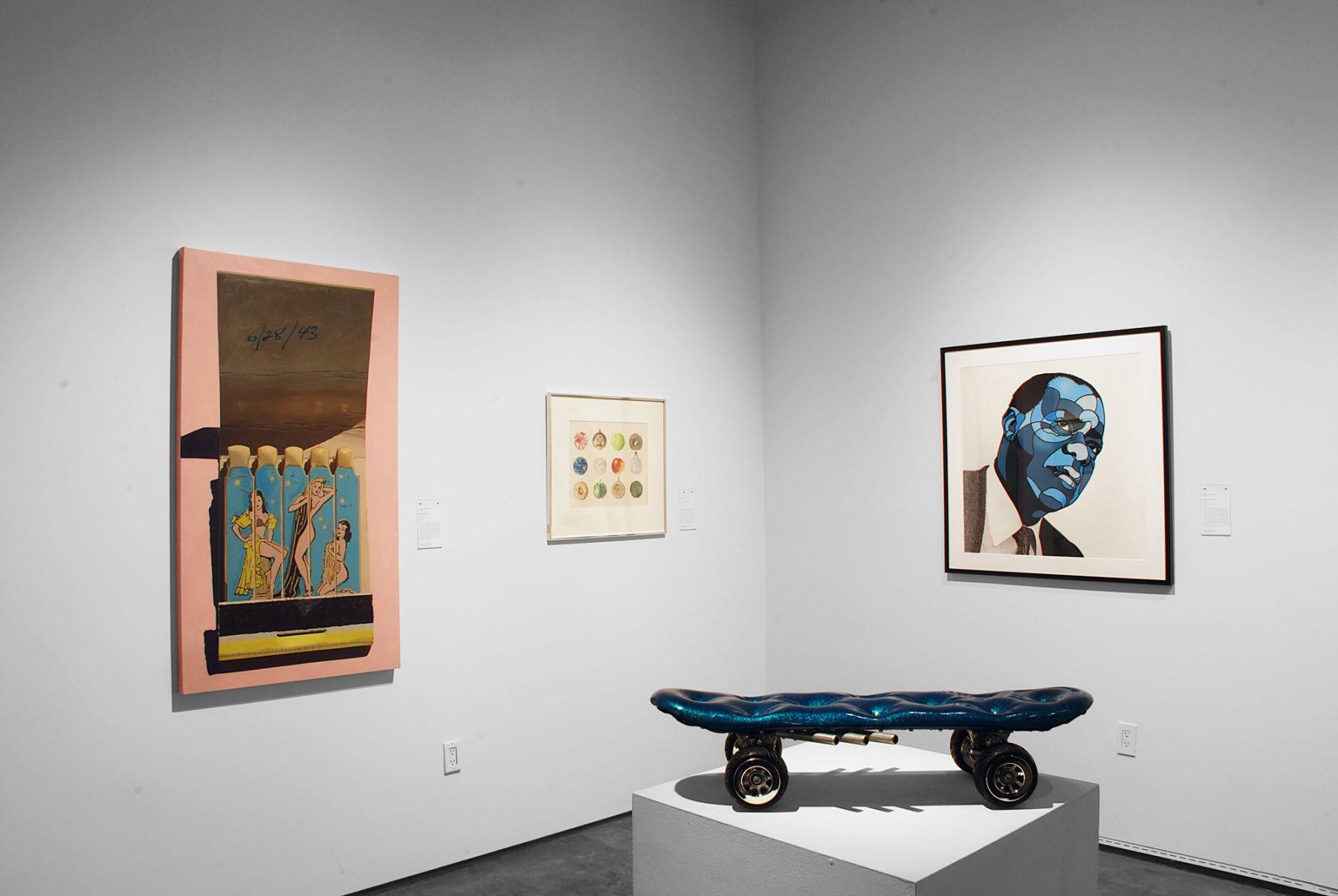 CA COOL installation photograph, Robert Townsend, Jean Swiggett, David Flores, Dan Levin