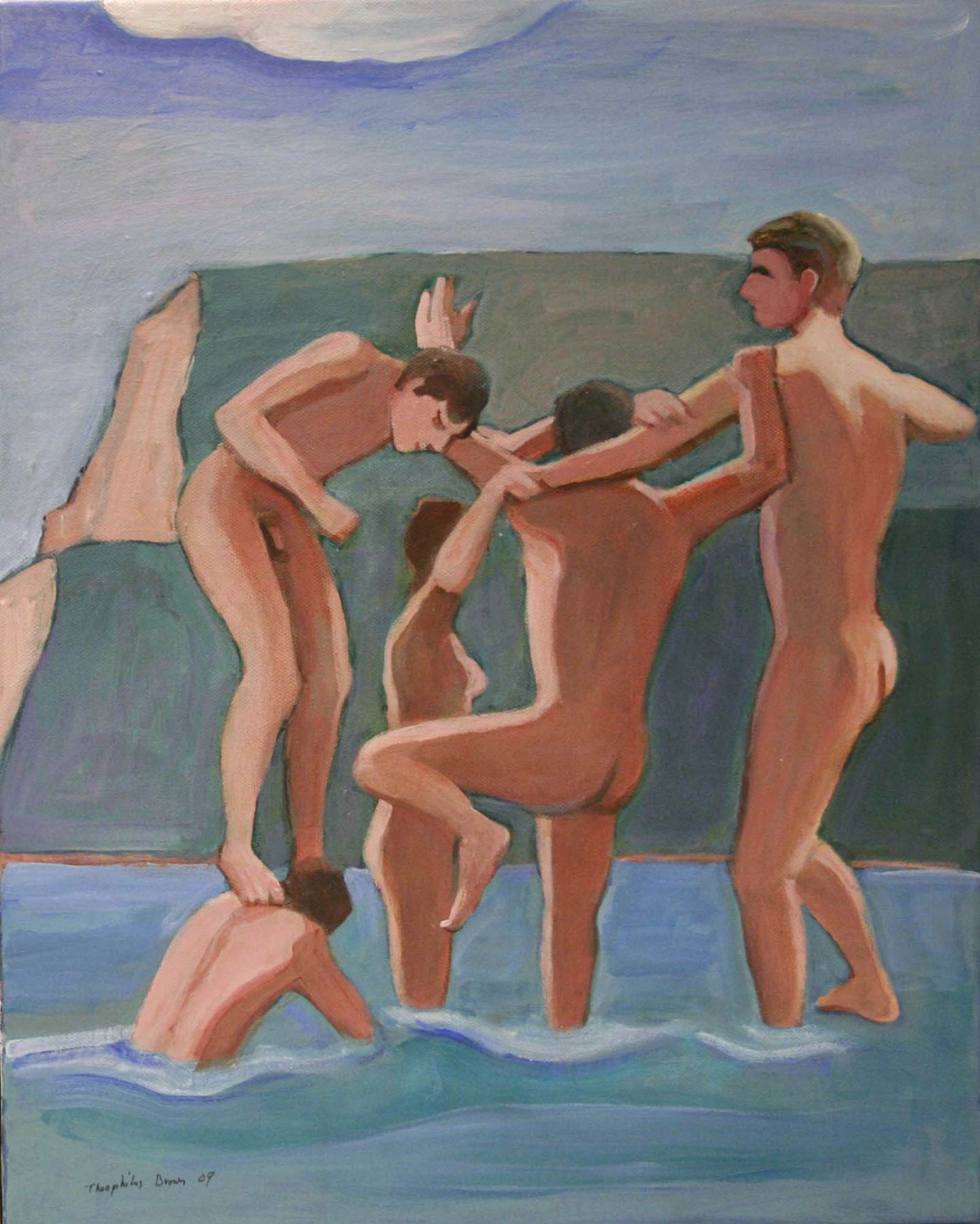 William Theophilus Brown, Untitled (Five Nudes), 2009