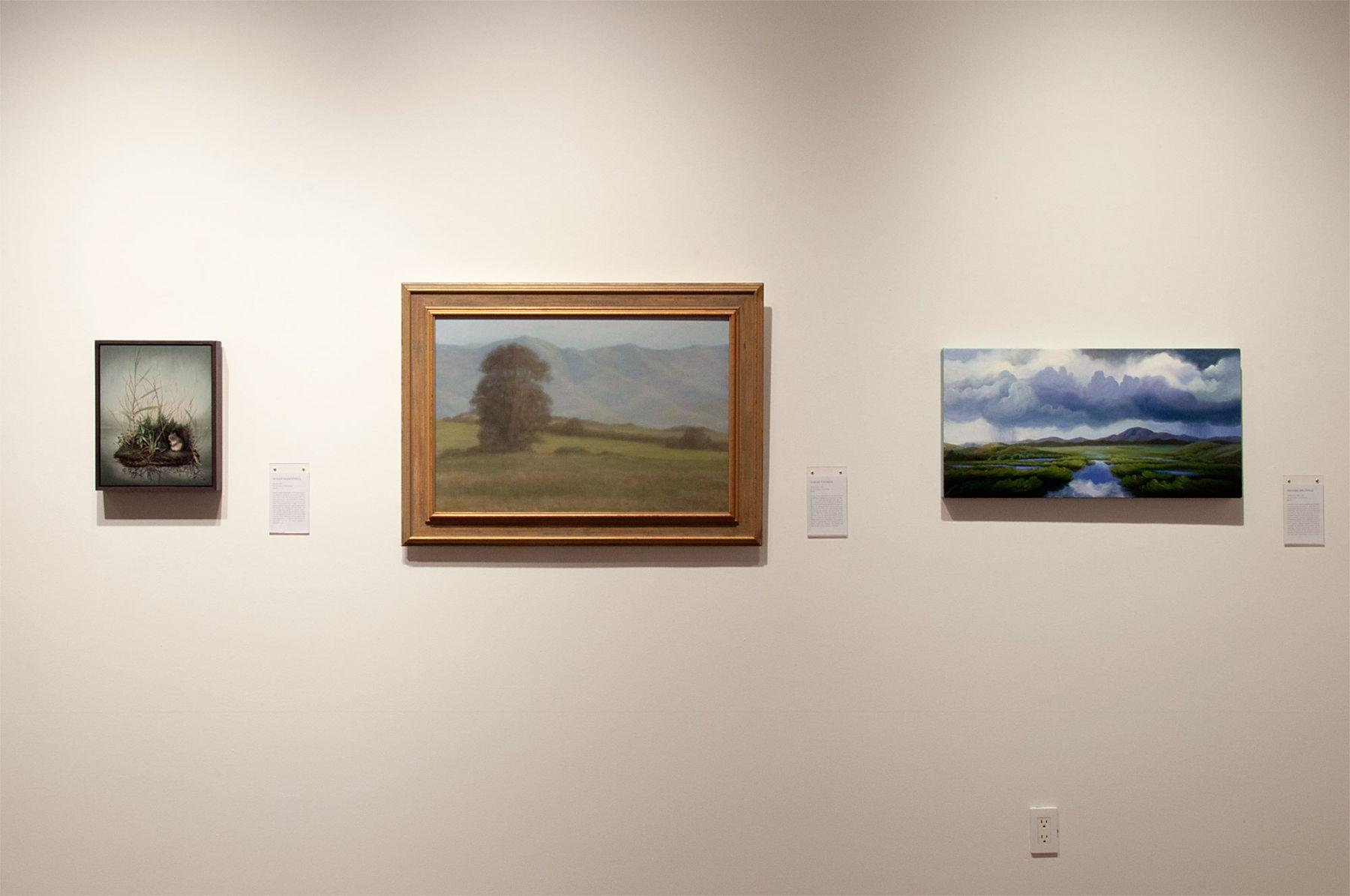 MASTERWORKS OF THE ARTISTS OF SULLIVAN GOSS exhibition, Susan McDonnell, Sarah Vedder, Phoebe Brunner