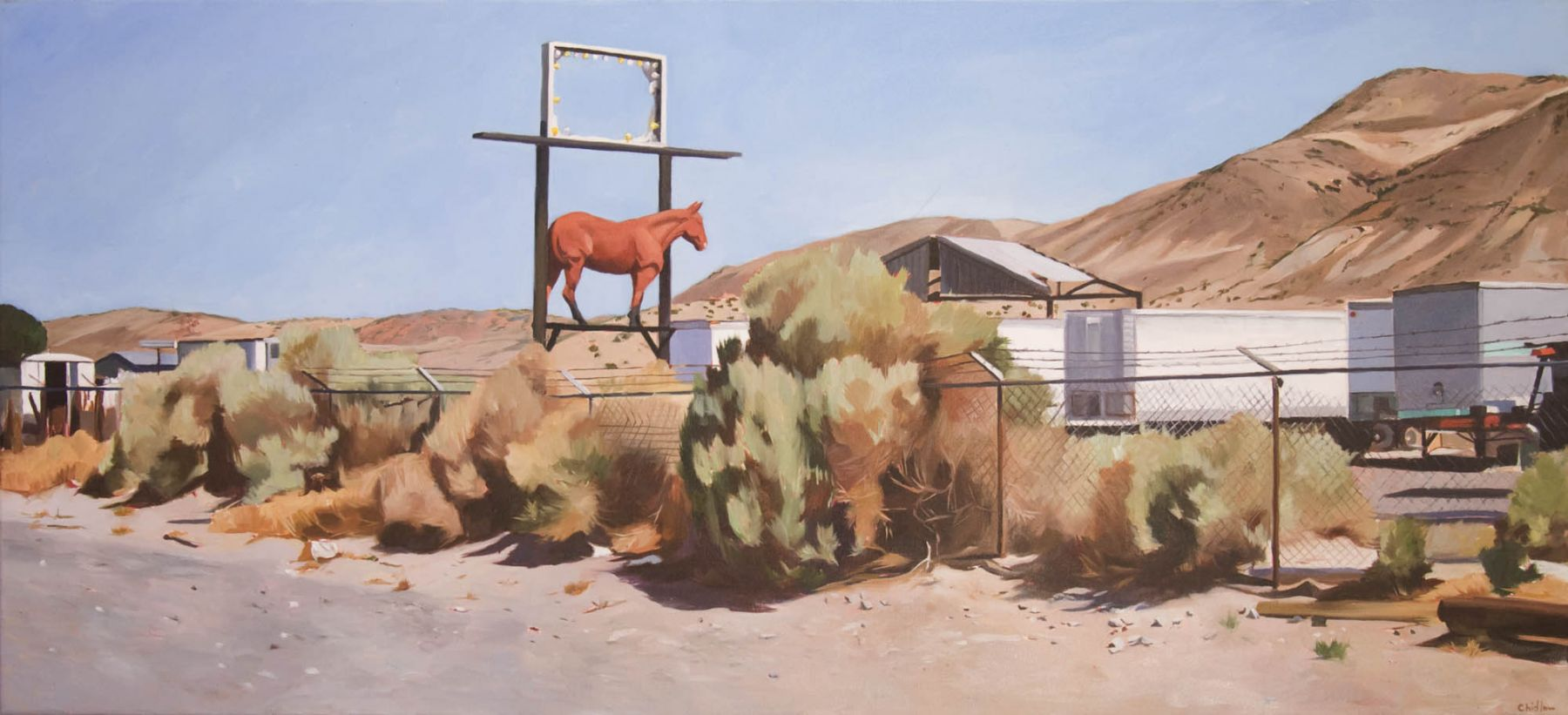 Patricia Chidlaw, Red Horse,