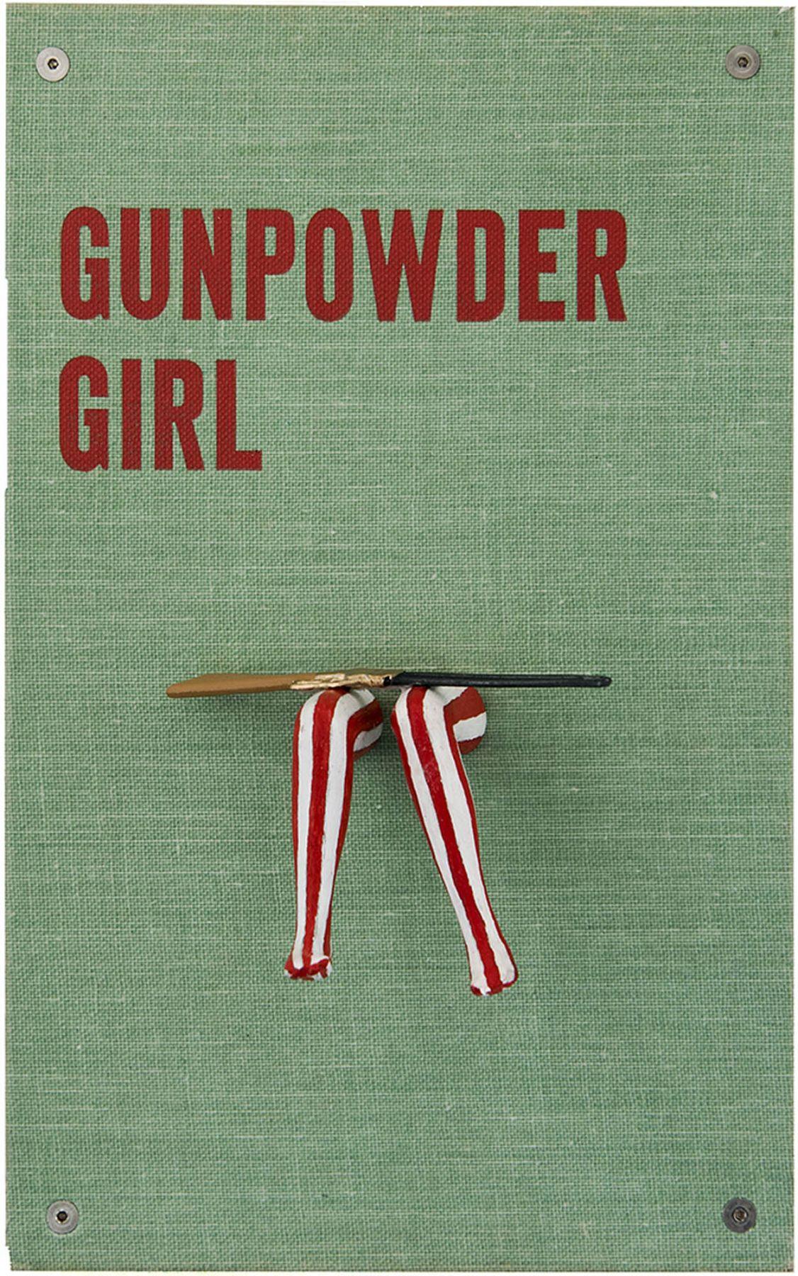 Nancy Gifford, Gunpowder Girl - #metoo Series, 2017