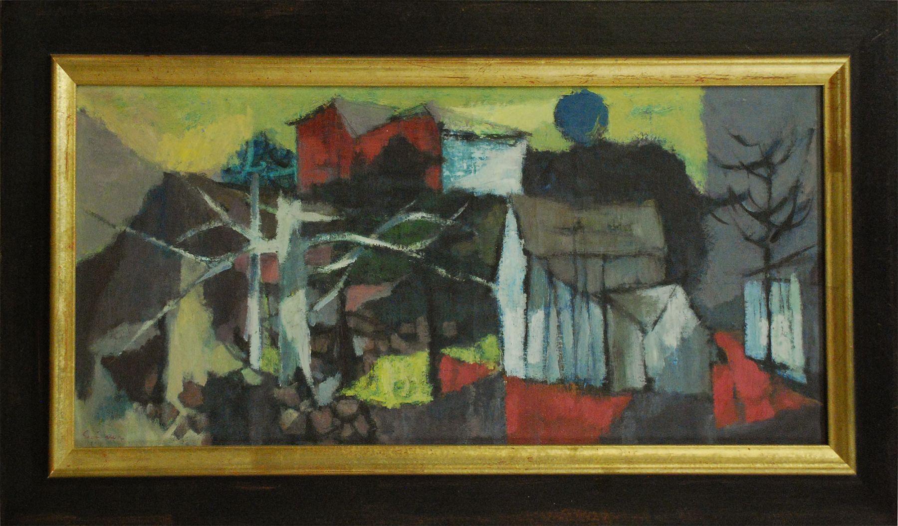 SUEO SERISAWA (1910-2004), Spring in Woodstock, 1950
