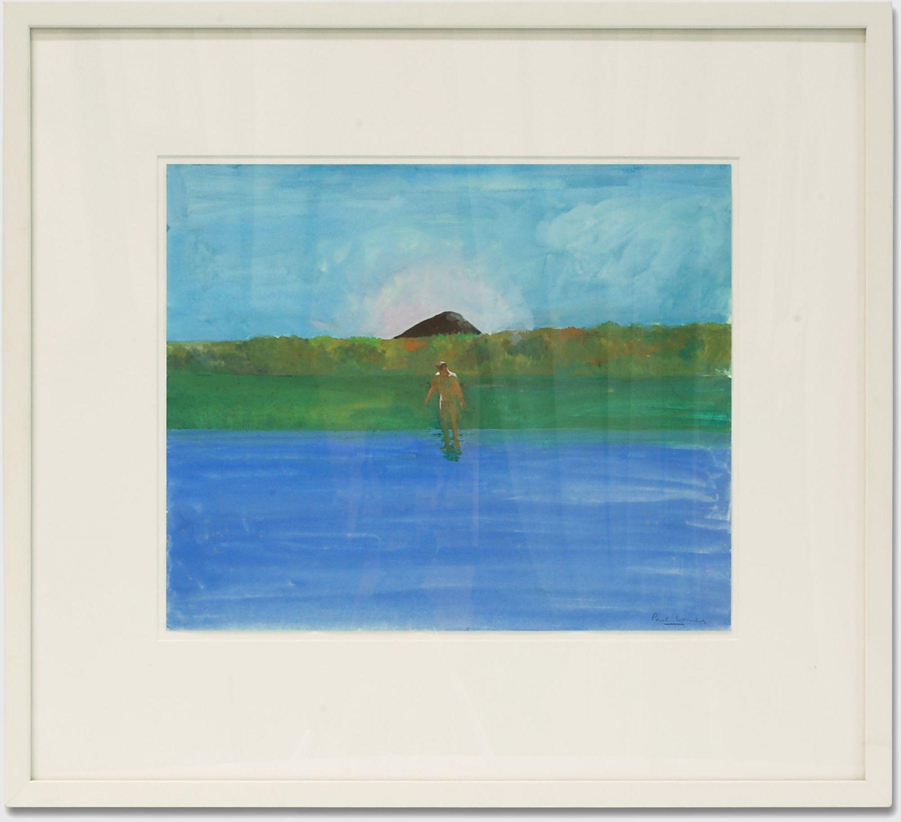 PAUL WONNER (1920-2008), Lake, Nude, Black Hill, c. 1967-68