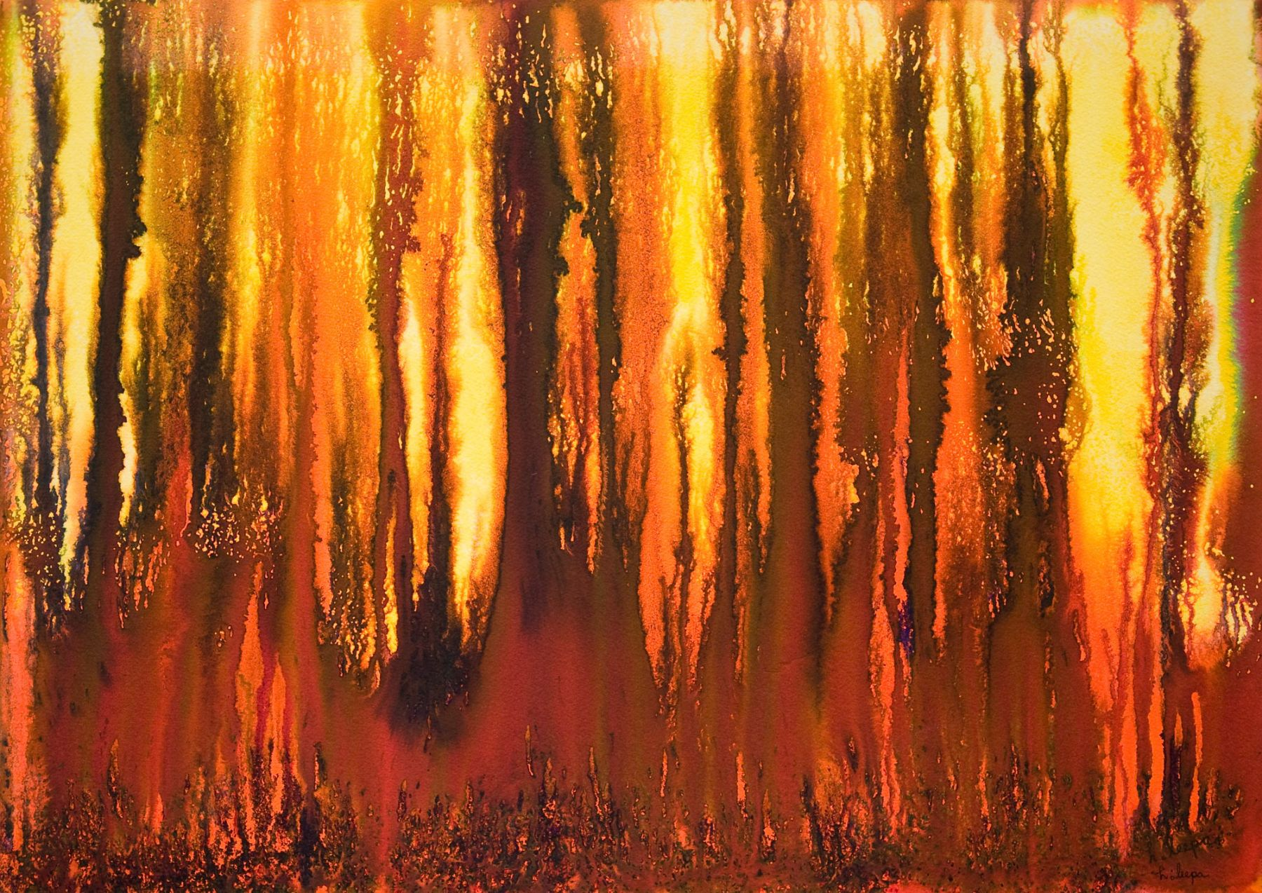 HARVEY LEEPA (1887-1977), Untitled, c. 1960