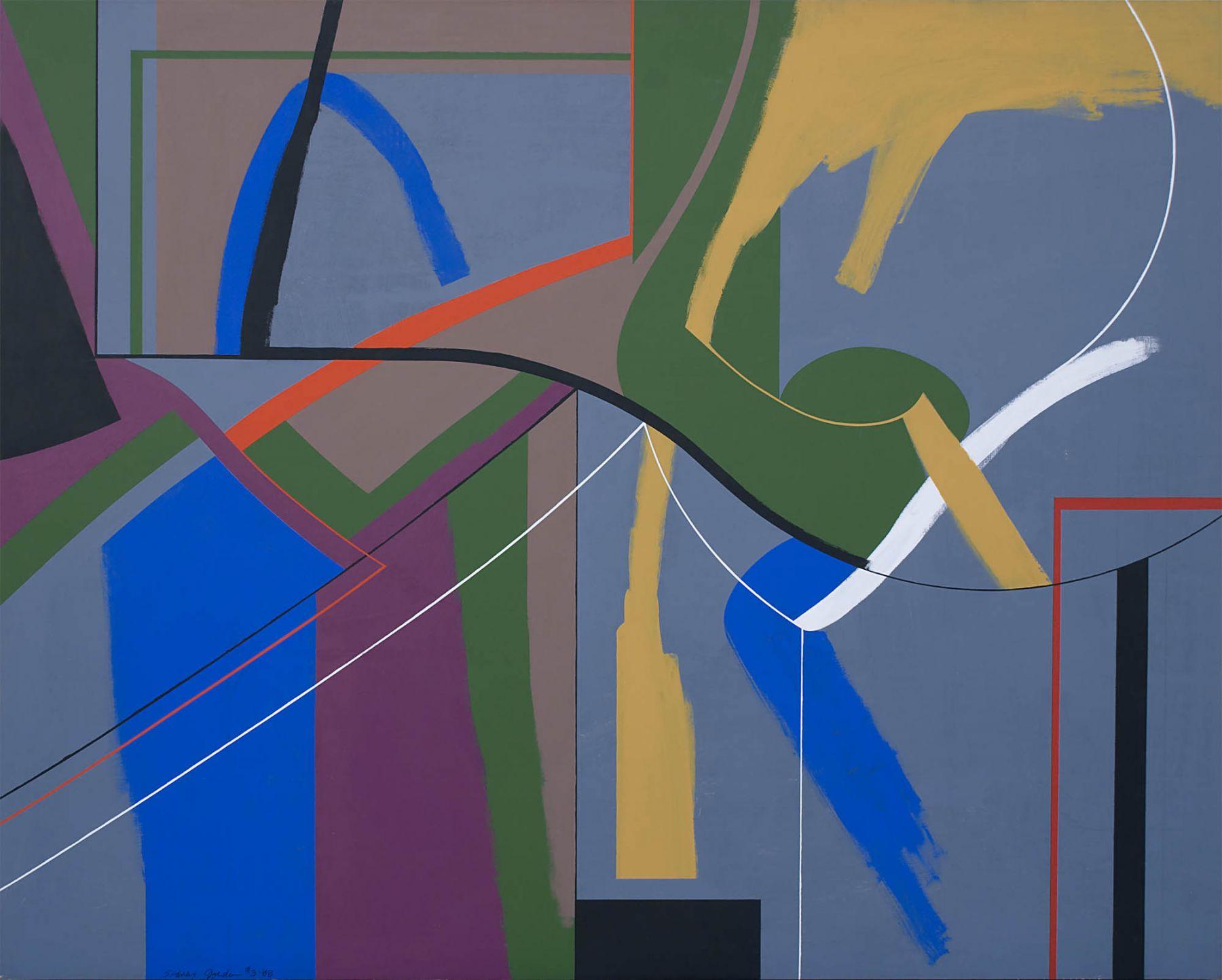 Sydney Gordin, #3-88, 1988