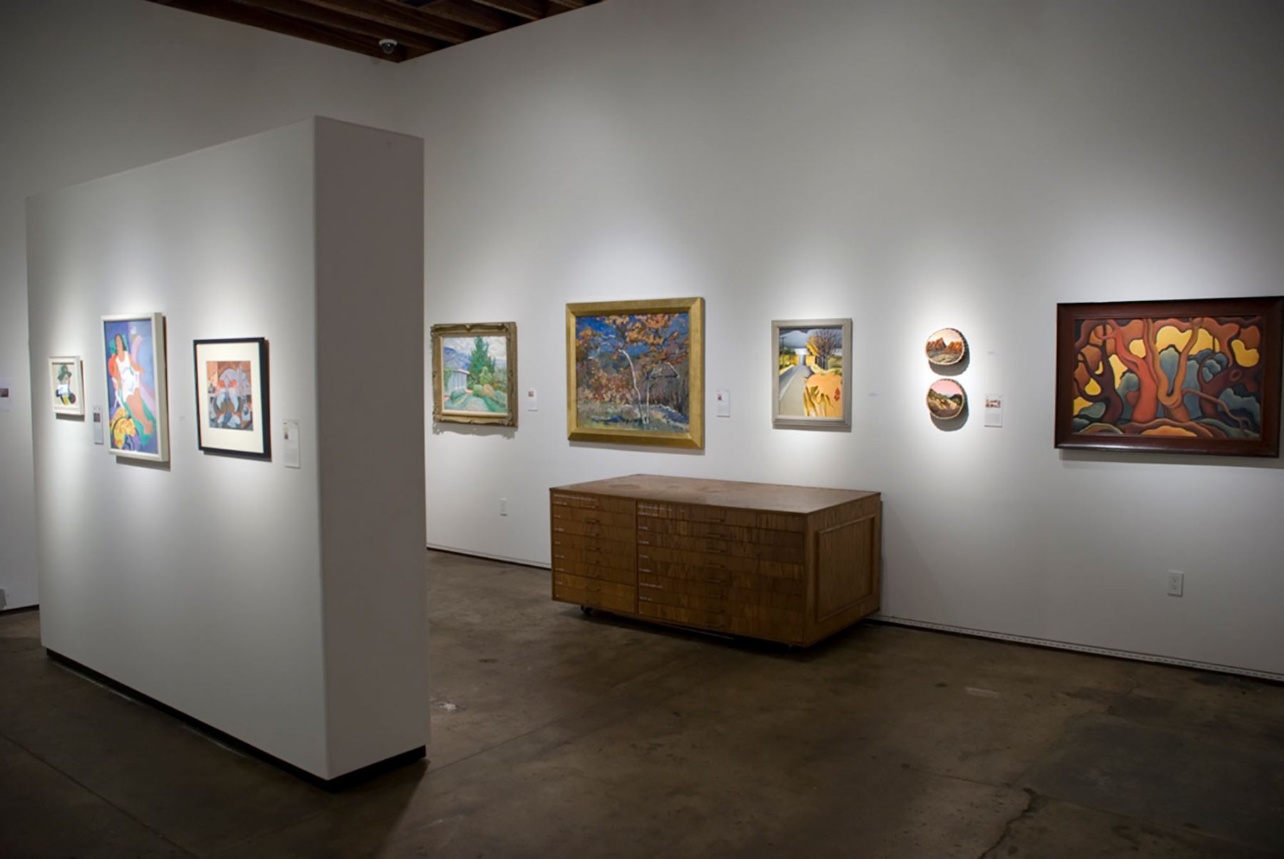 The Declarations of Independents: An Exhibition of Strong Women Modernists installation