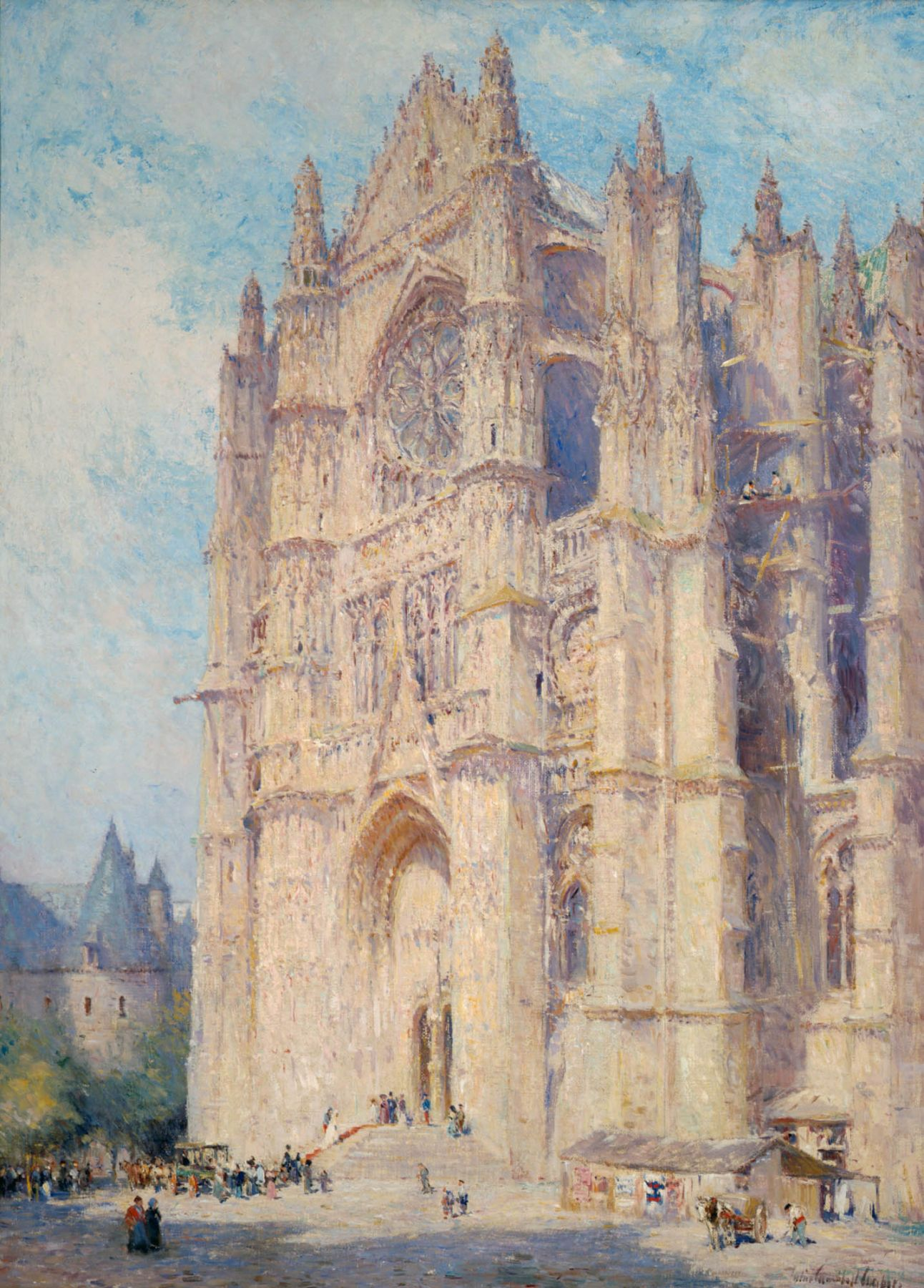 Colin Campbell Cooper, Beauvais Cathedral, 1926