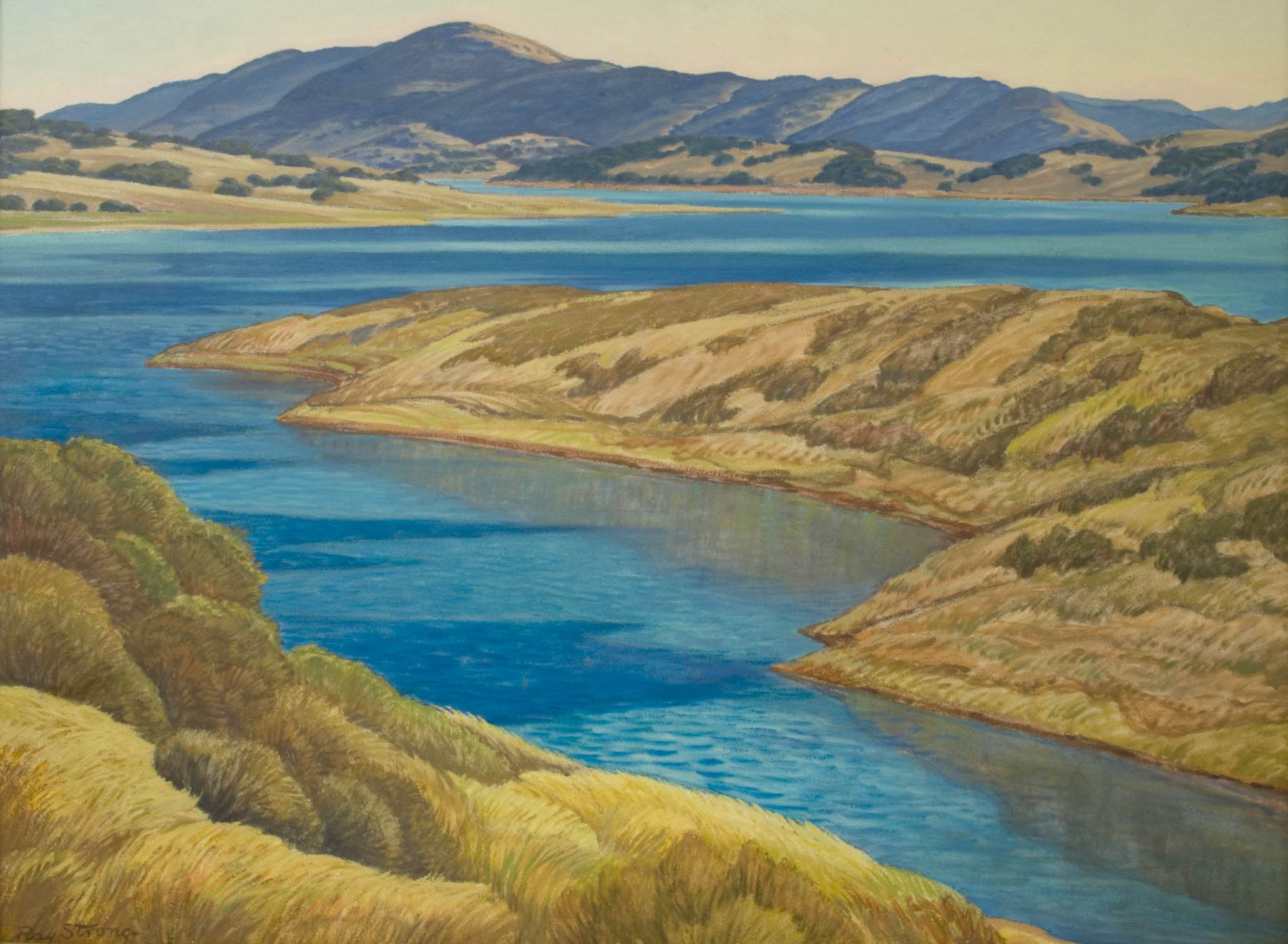 Ray Strong, Lake Casitas, c. 1970