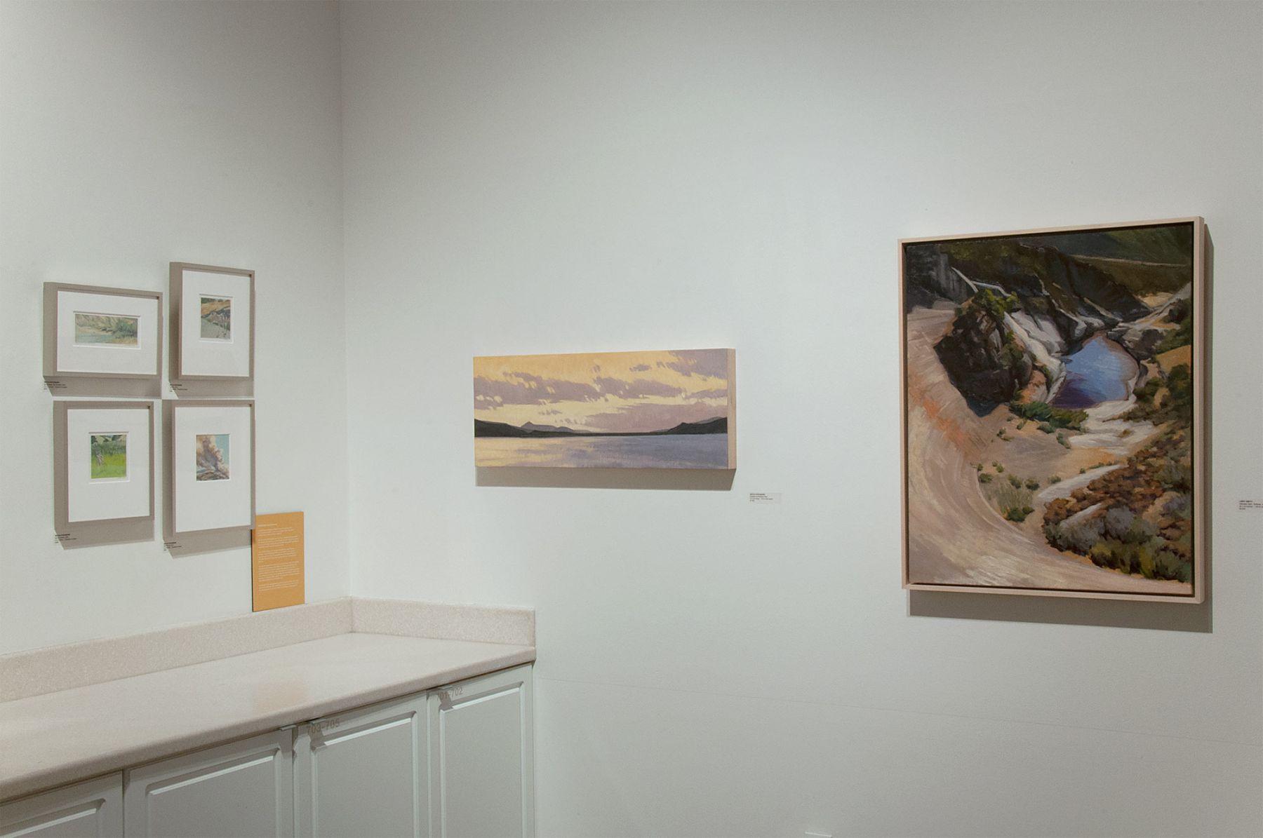 The River's Journey Installation photo, Libby Smith, Nicole Strasburg