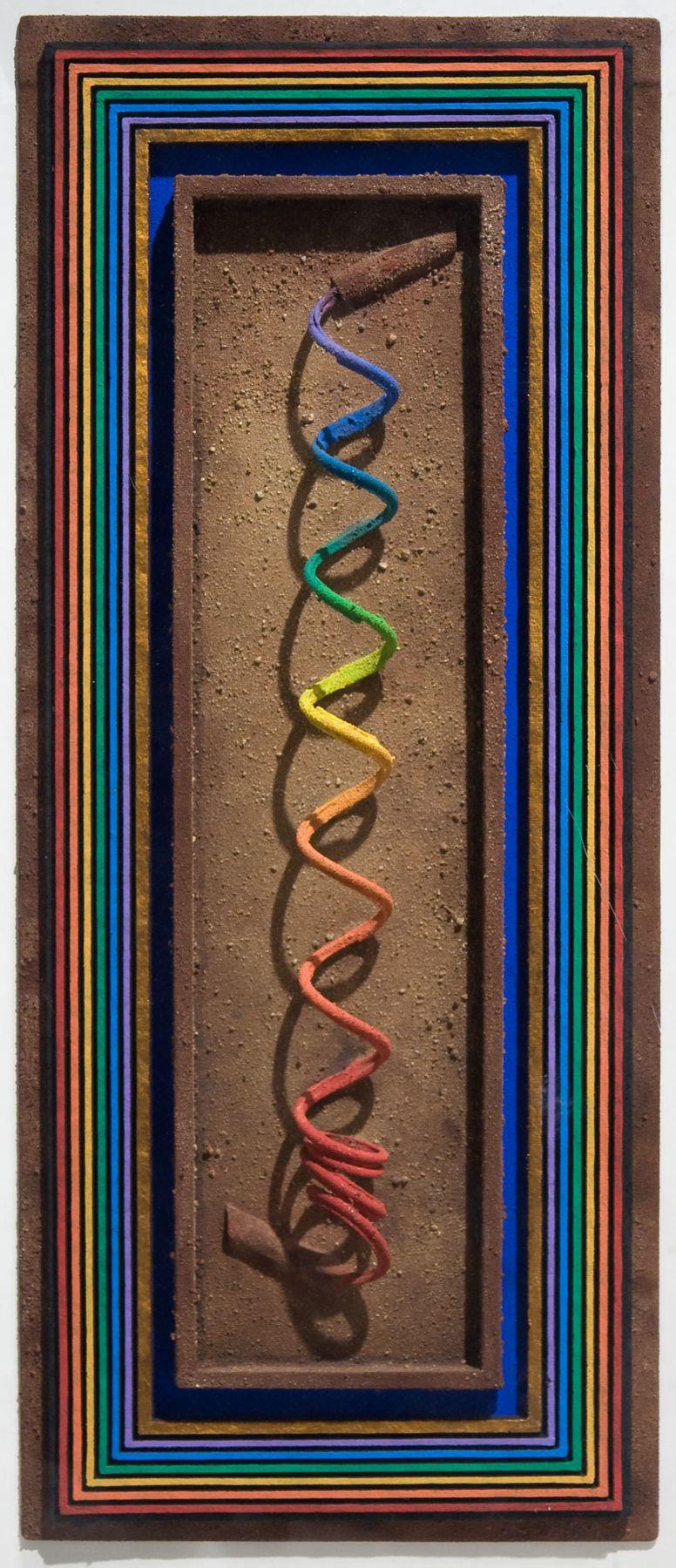 Rainbow Series: Poseidon's Spiral by Ron Robertson