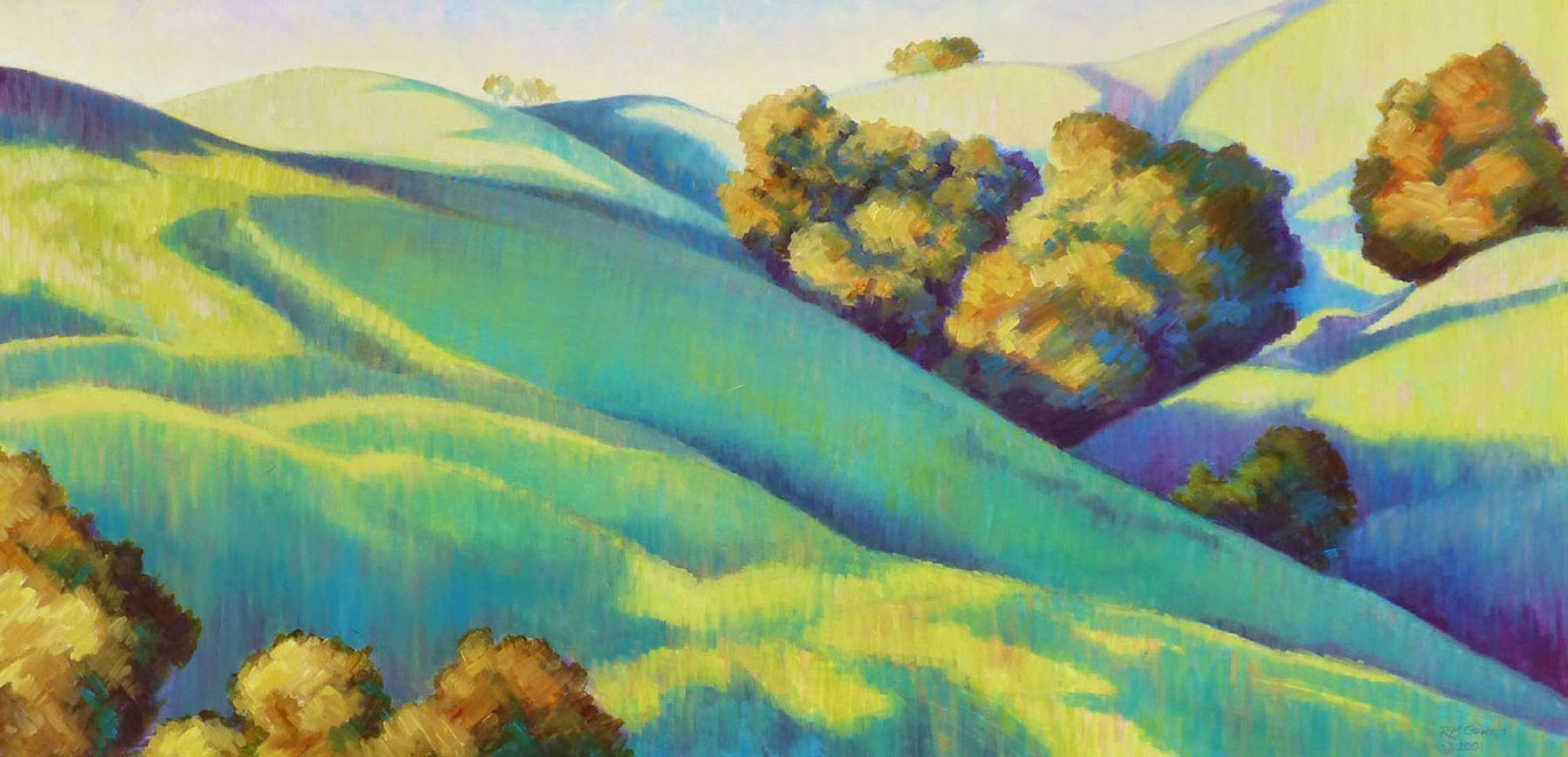 Robin Gowen, Haze in the Hills, 1997