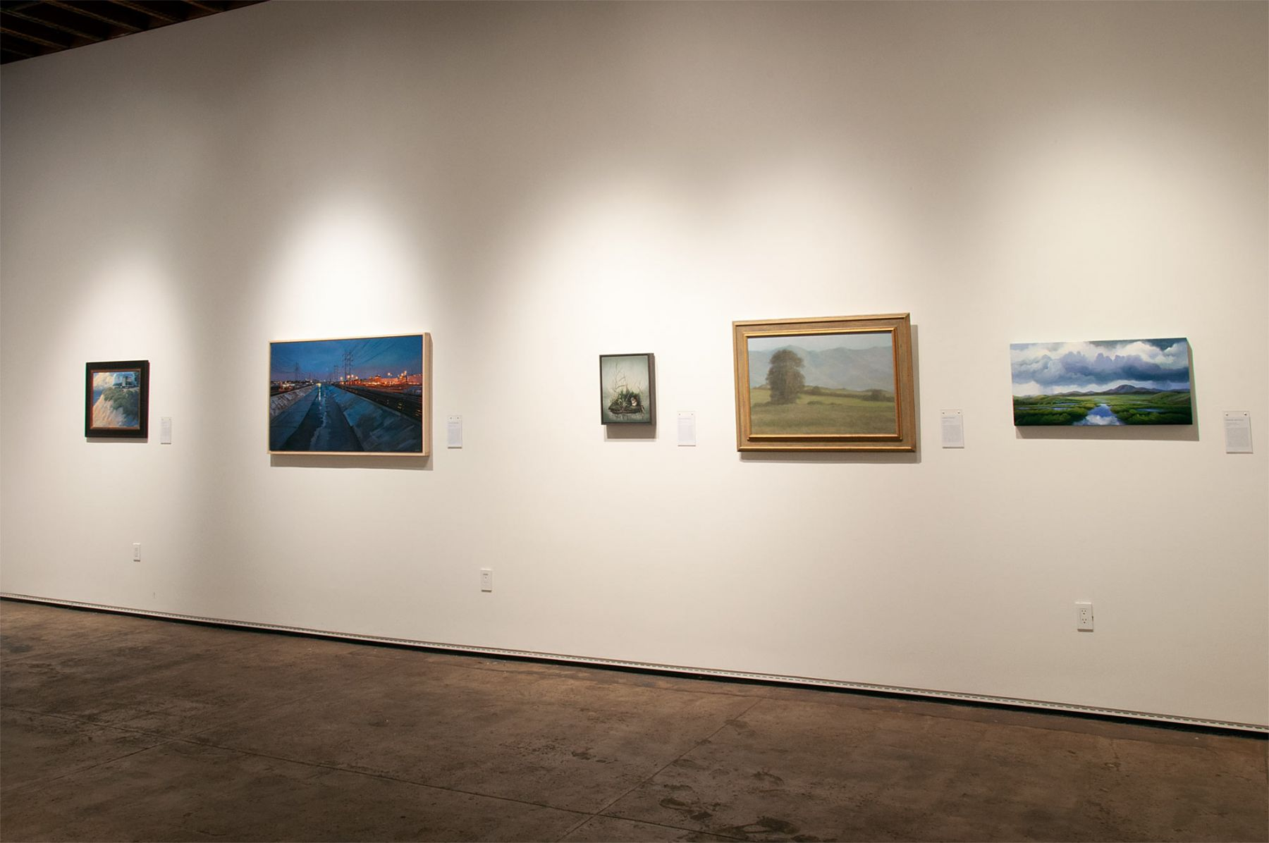 MASTERWORKS OF THE ARTISTS OF SULLIVAN GOSS exhibition, Jon Francis, Patricia Chidlaw, Susan McDonnell, Sarah Vedder, Phoebe Brunner