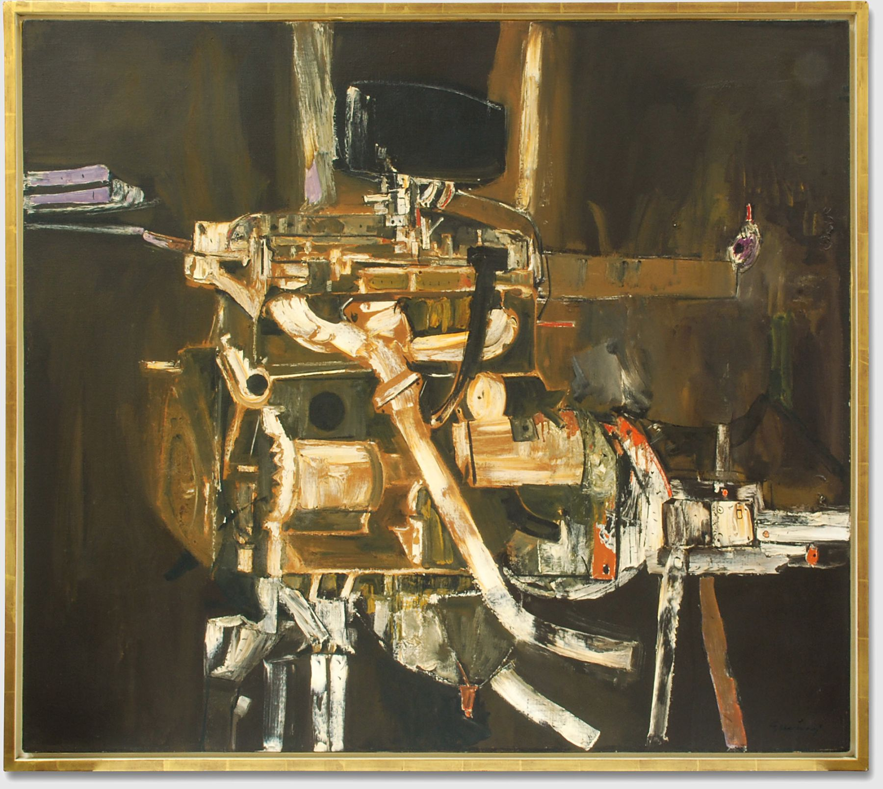 EDGAR EWING (1913-2006), American Engine, c. 1958