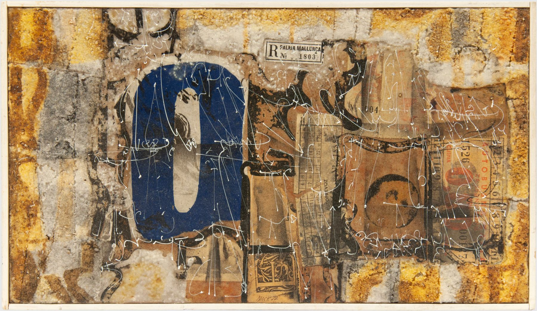 KEN NACK (1923-2009), Riva del Fero, 1971-72