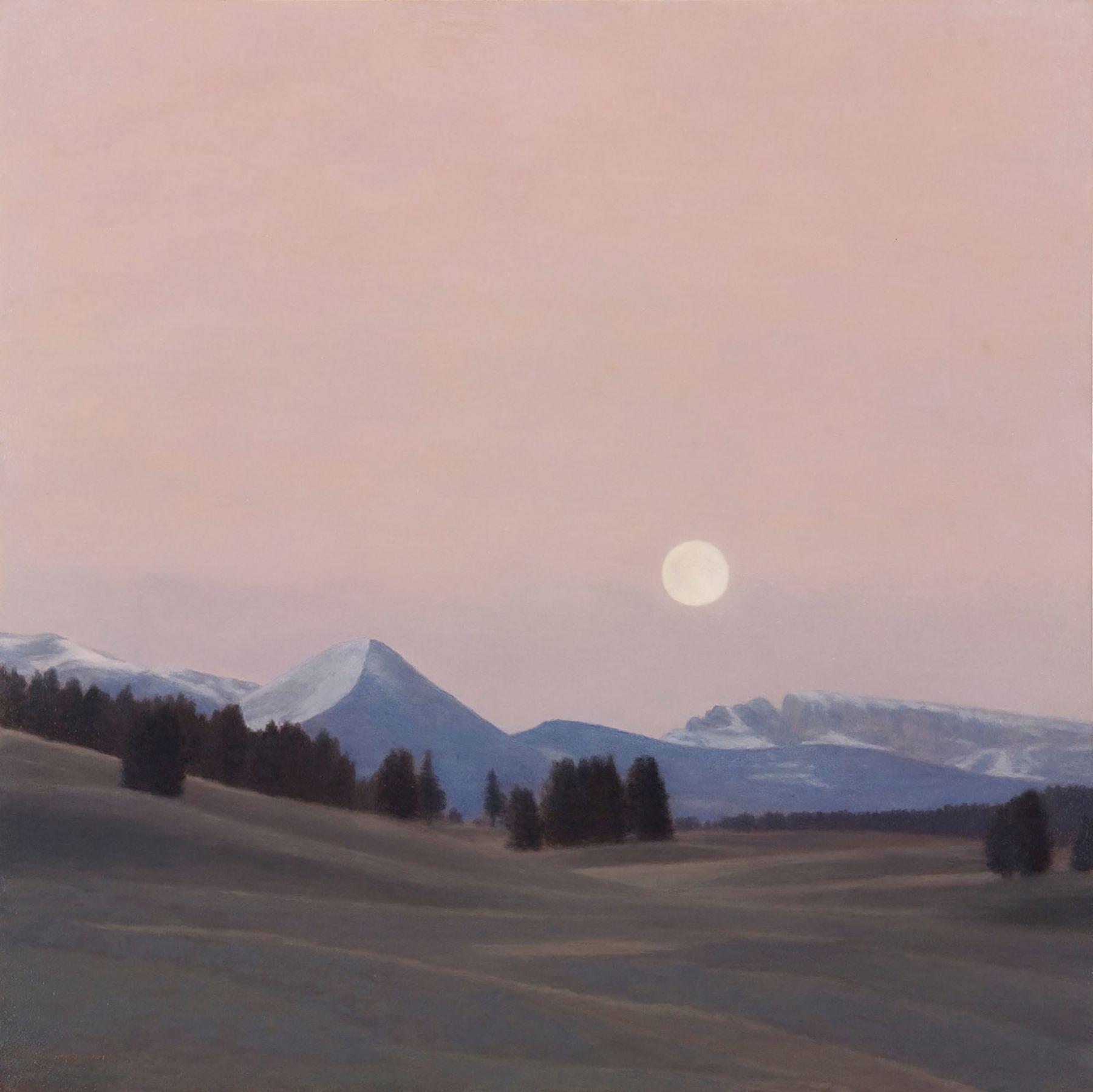 Pamela Kendall Schiffer, Full Moon, Hayden Valley, 2016