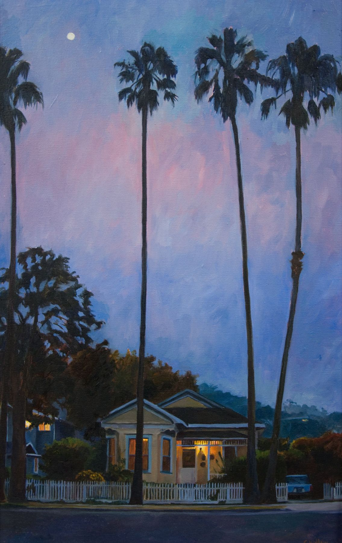 Patricia Chidlaw, Painting, Westside Cottage