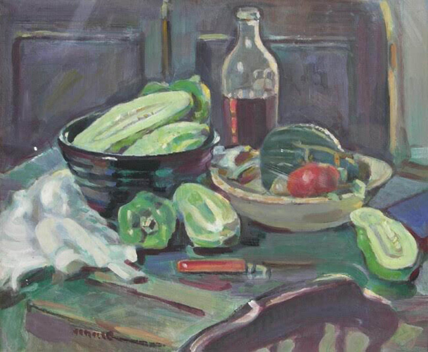Clarence Hinkle, Cucumbers