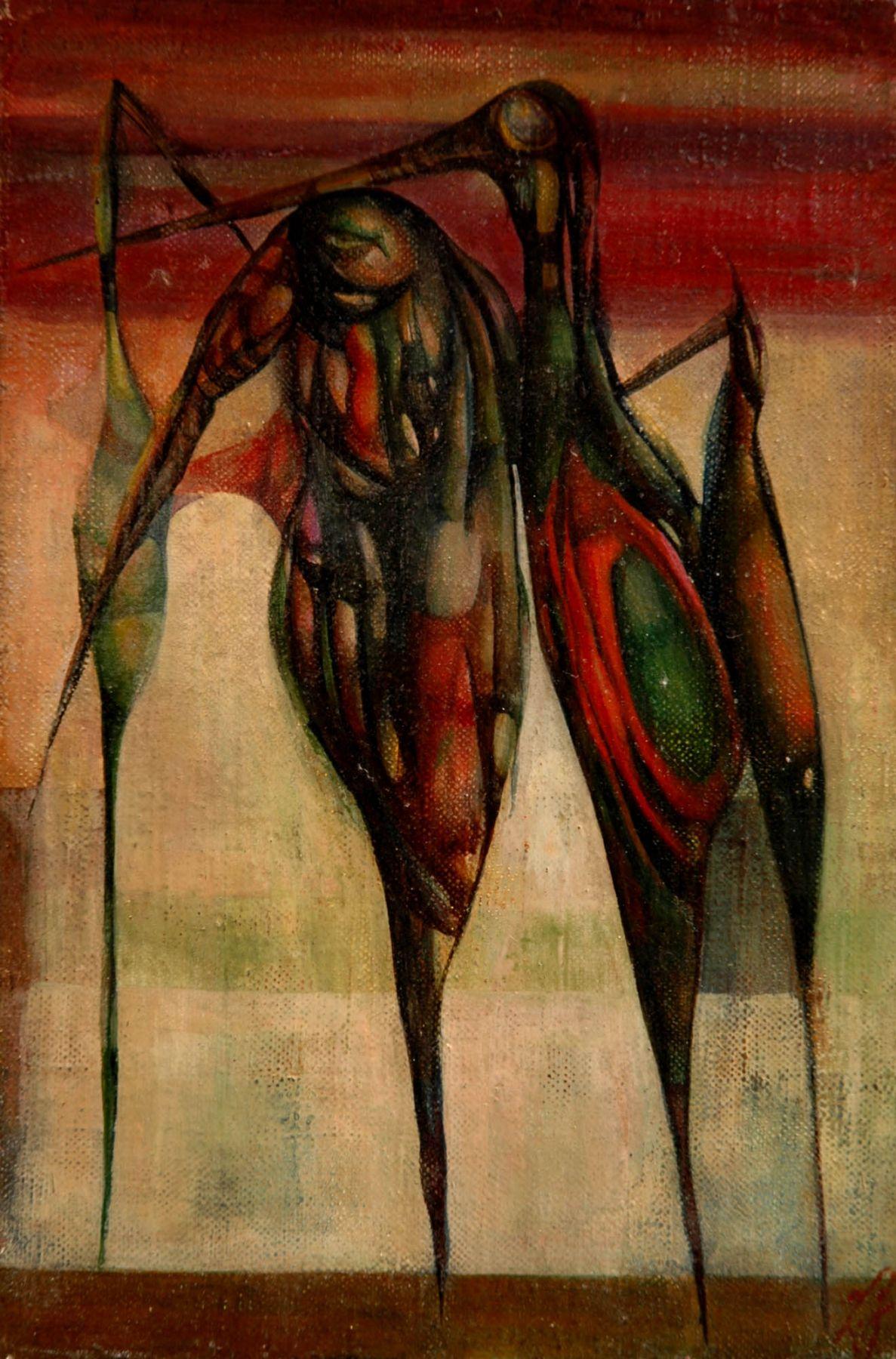 Leon Kelly, Birds of Silence, 1946