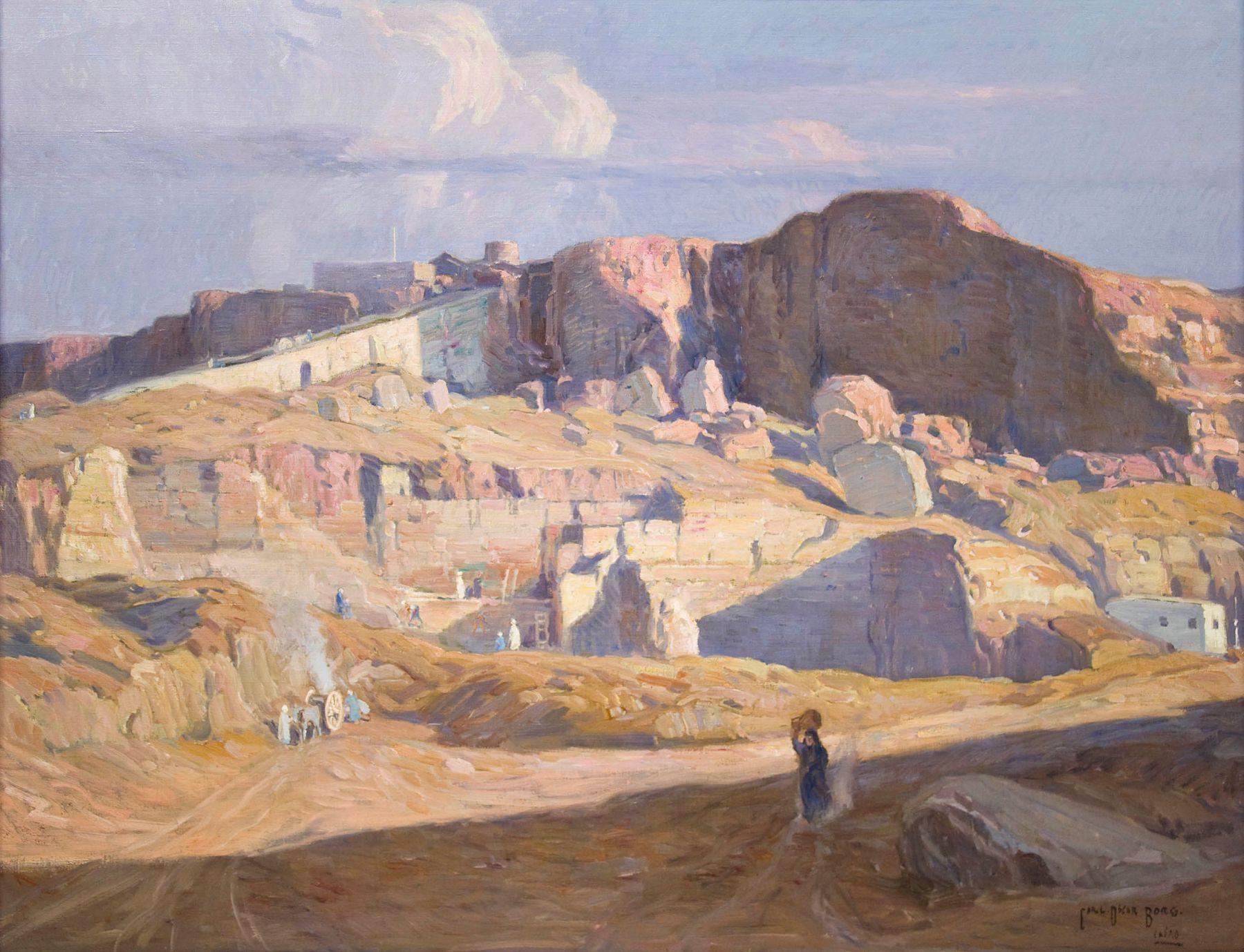CARL OSCAR BORG (1879-1947), Cairo, c. 1910