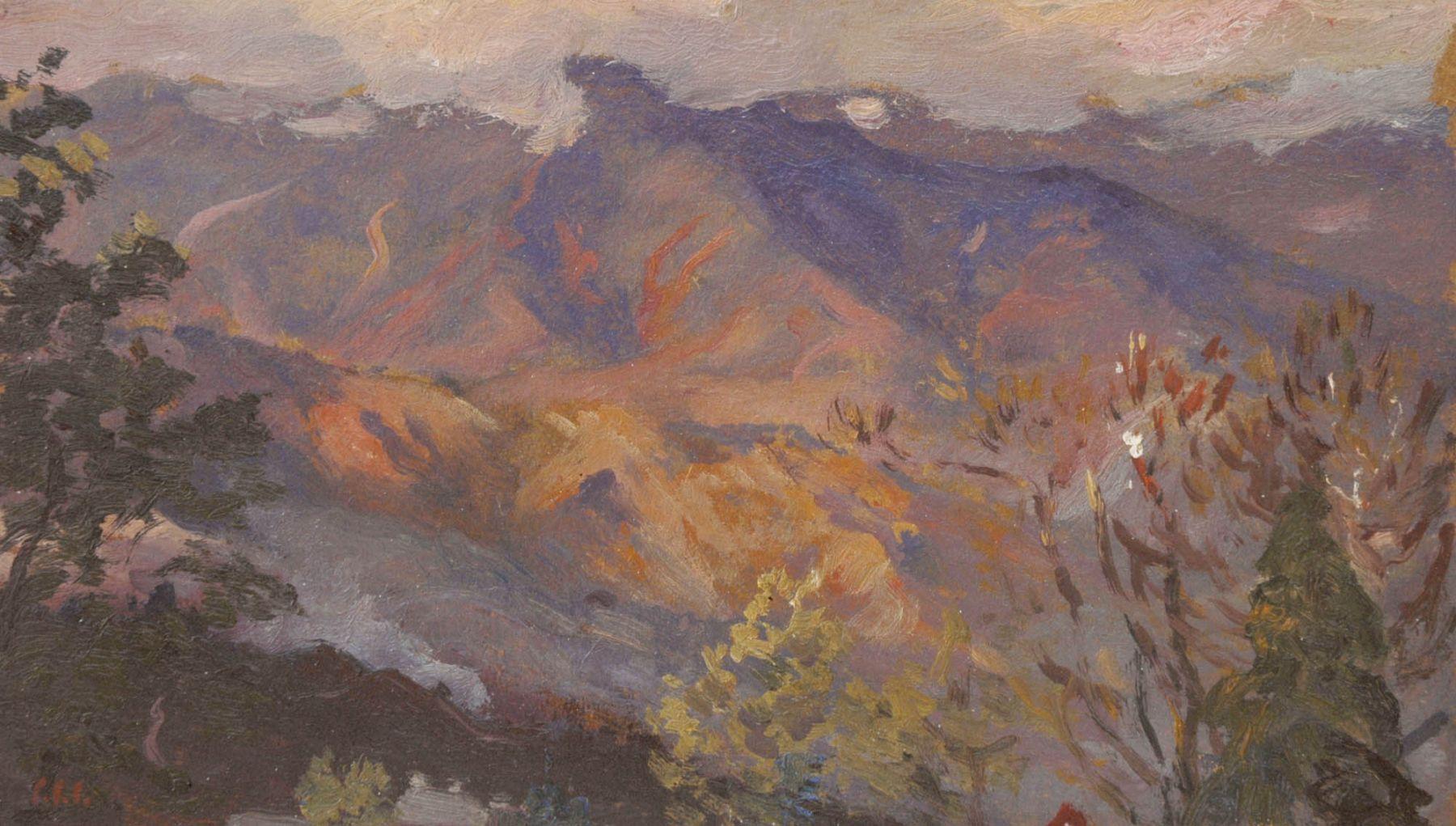 Colin Campbell Cooper, California Sunset, Circa 1930.